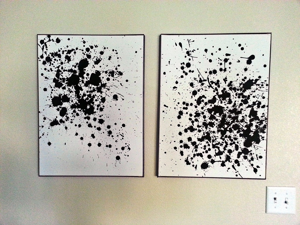 Diy Wall Art Abstract – Frantasia Home Ideas : Diy Wall Arts Ideas With Regard To Most Recently Released Diy Abstract Wall Art (View 8 of 20)