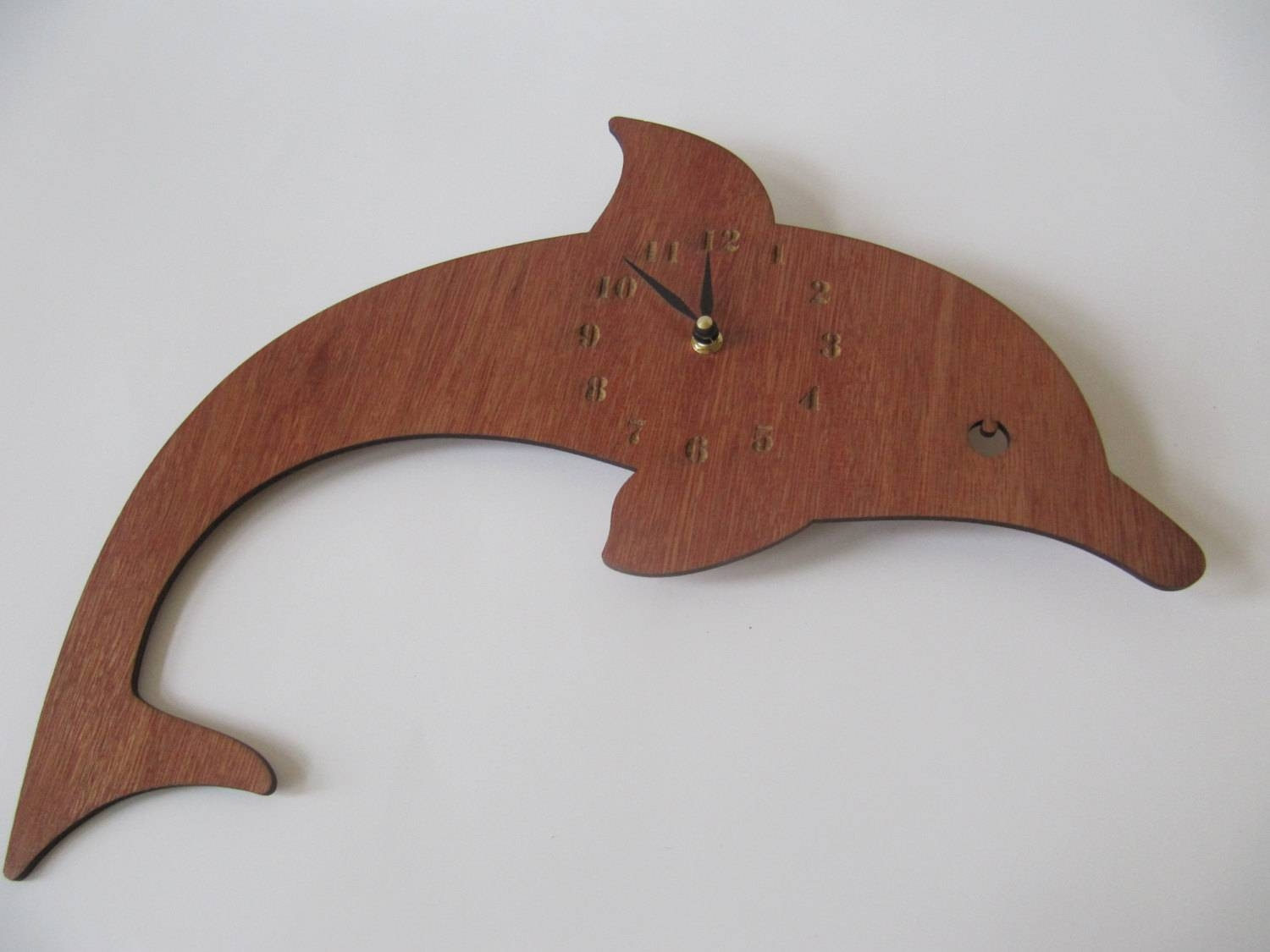 Dolphin Wall Clock (View 8 of 20)
