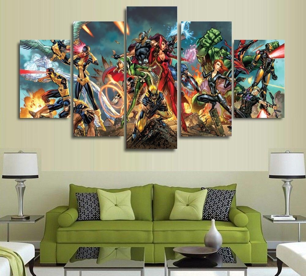 Download Marvel Wall Decor | Himalayantrexplorers Pertaining To Most Current Hobby Lobby Abstract Wall Art (View 7 of 20)