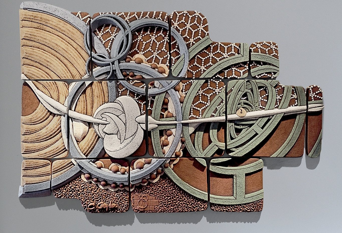 Equisymbrium No. 2Christopher Gryder (Ceramic Wall Sculpture Pertaining To Newest Abstract Ceramic Wall Art (Gallery 2 of 20)