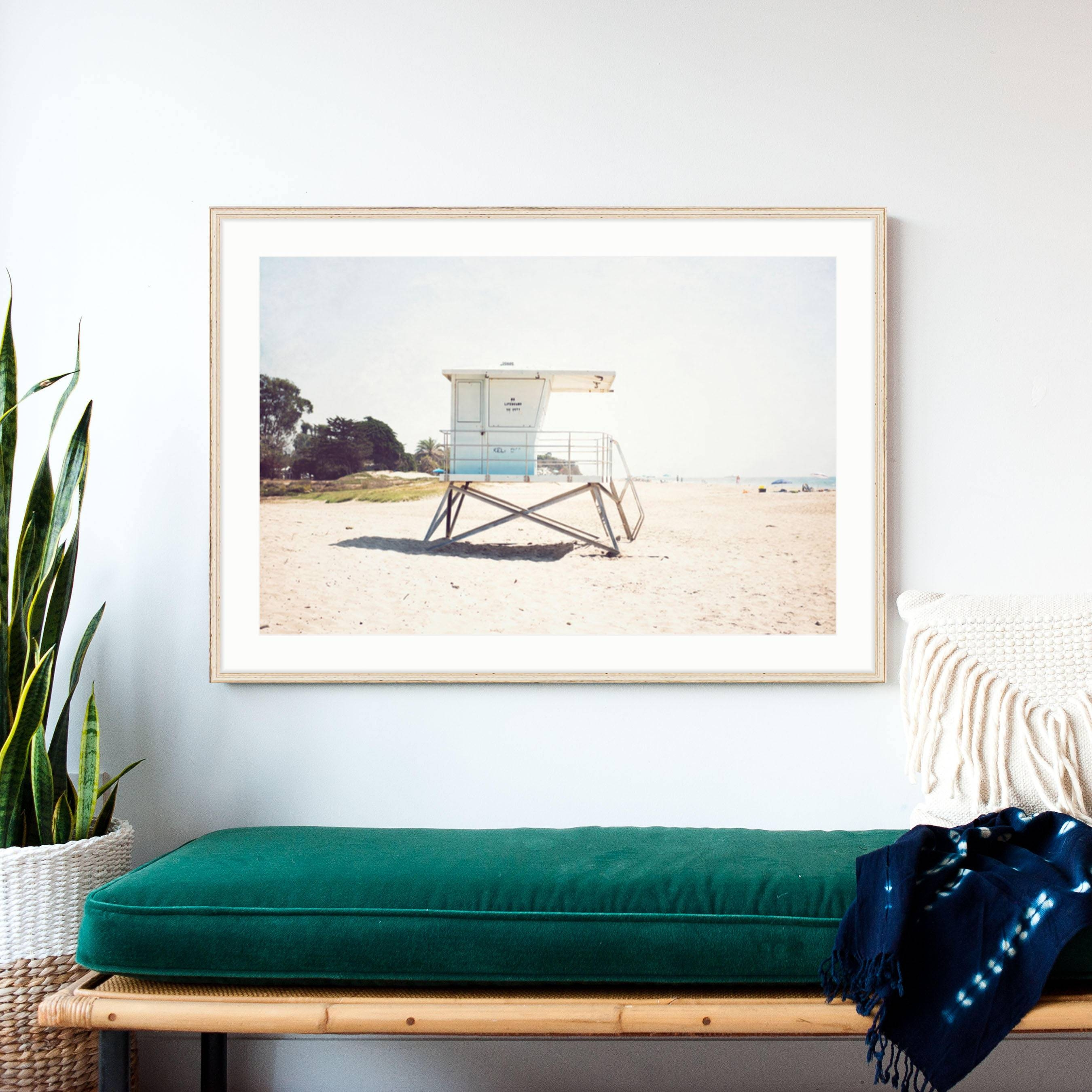 Frame Beach Art Beach Print Large Wall Art Large Beach Inside Most Recent Large Coastal Wall Art (View 17 of 20)