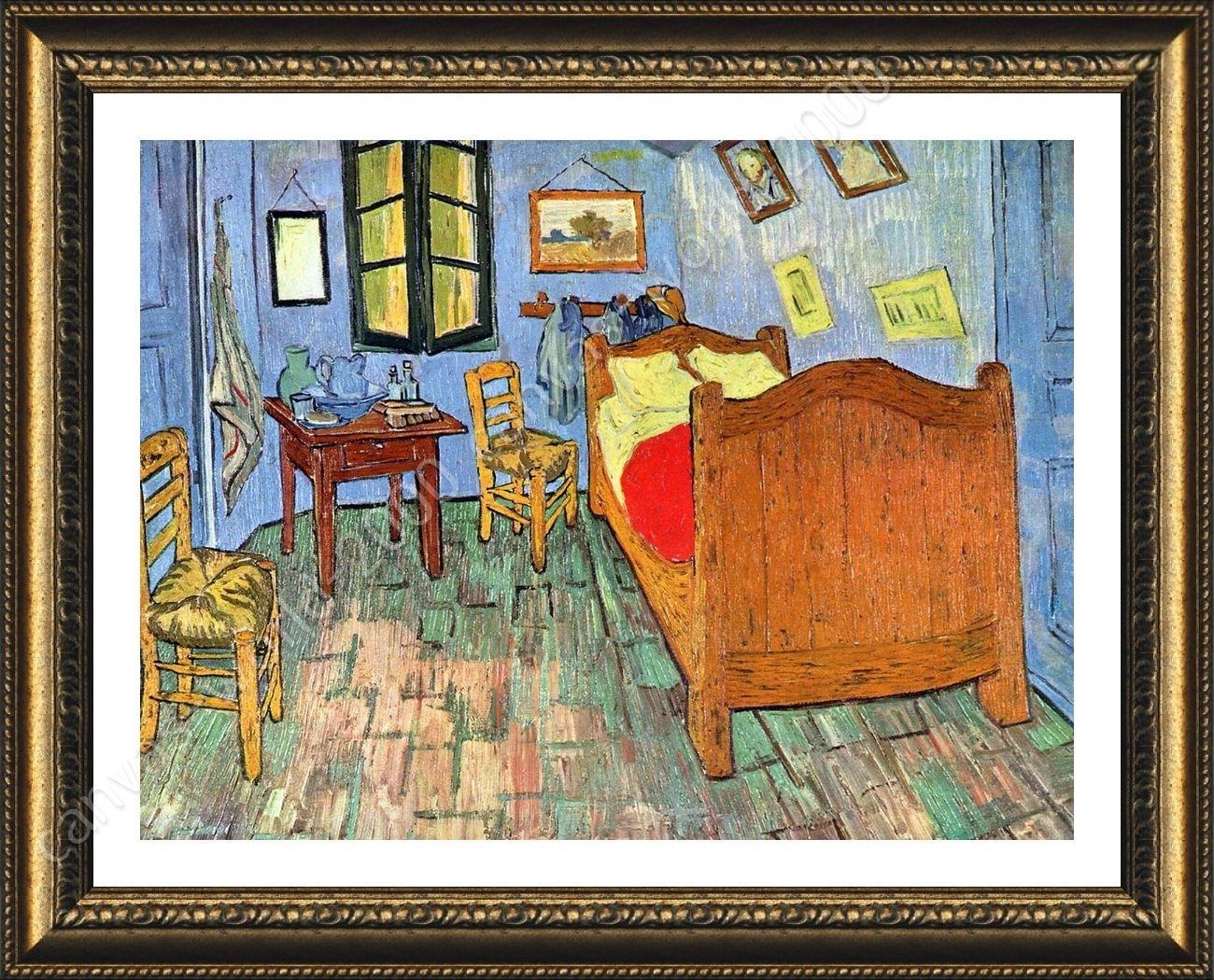 Framed Poster Bedroom At Arles Vincent Van Gogh Framed Decor With 2017 Vincent Van Gogh Wall Art (View 18 of 20)