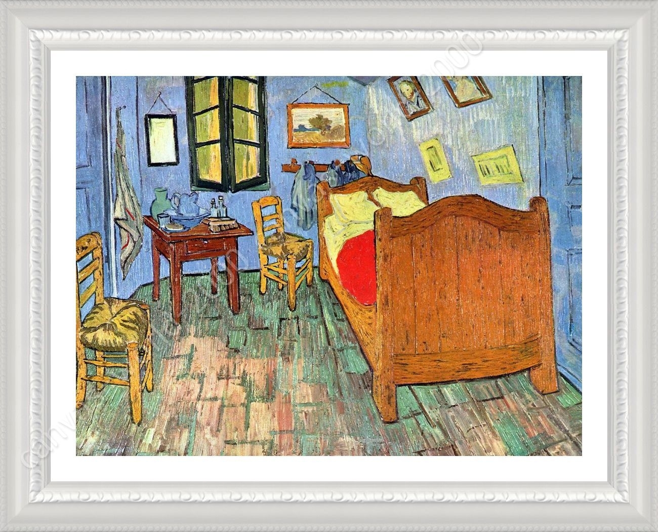 Framed Poster Bedroom At Arles Vincent Van Gogh Framed Decor Within Best And Newest Vincent Van Gogh Wall Art (View 9 of 20)