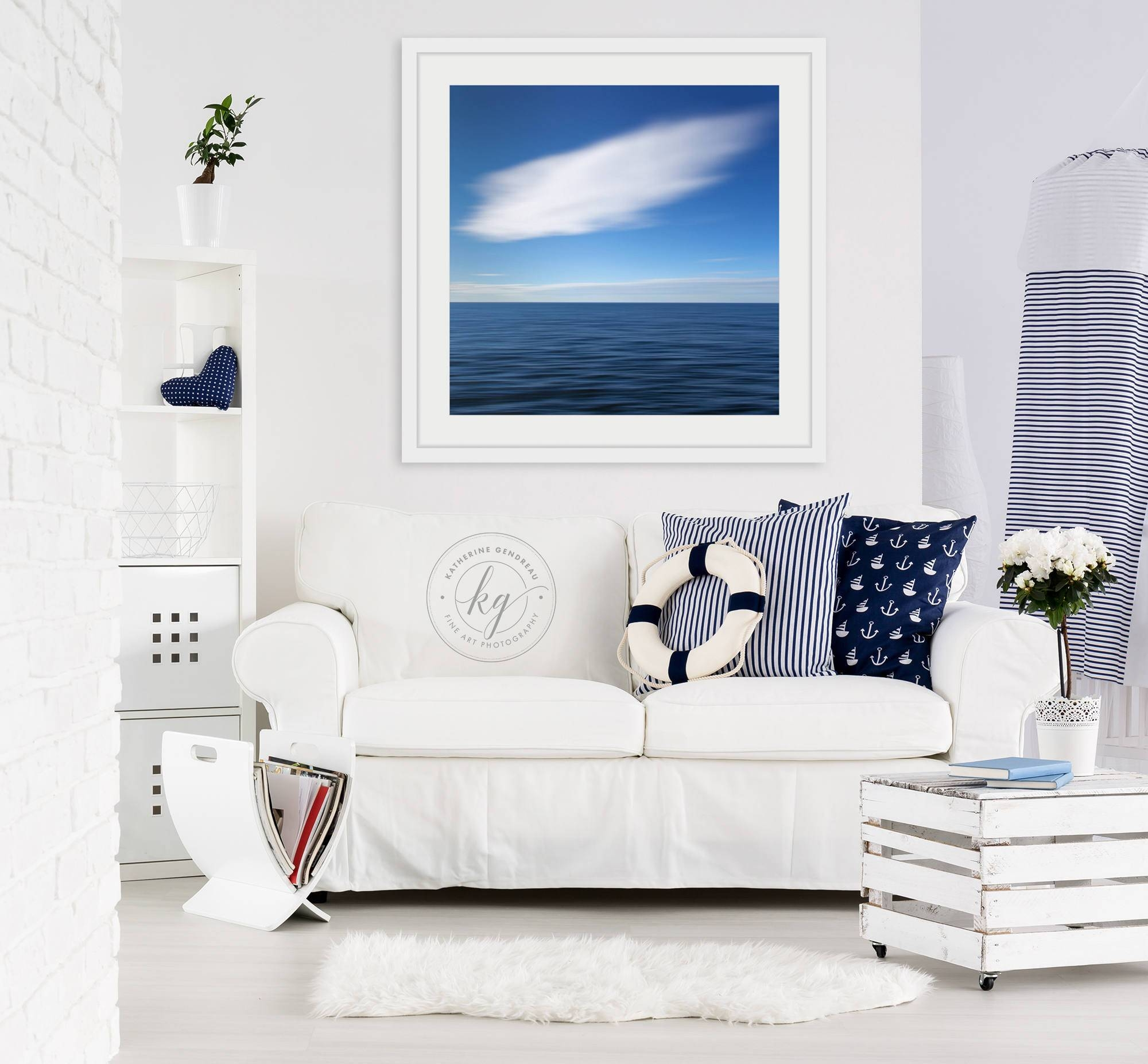 Framed Wall Art Abstract Art Beach Decor Ocean Photography For 2017 Framedcoastal Wall Art (View 15 of 20)
