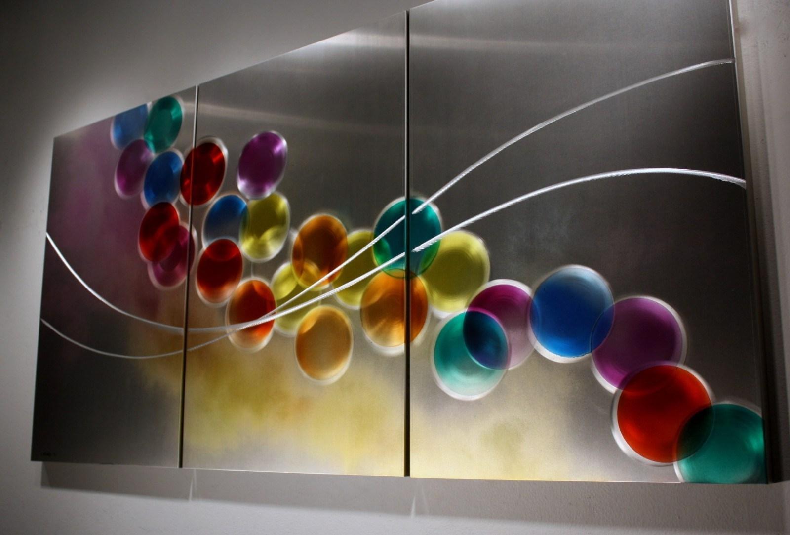 Fun Metal Abstract Wall Art Circle Bubble Wave Shaped Find This In 2018 Circle Bubble Wave Shaped Metal Abstract Wall Art (View 6 of 20)