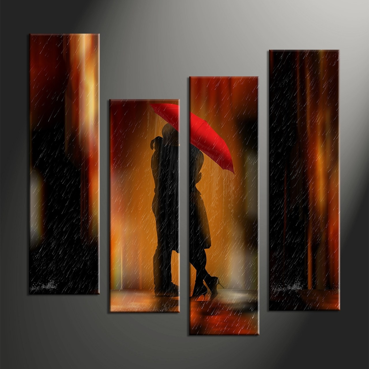 Featured Photo of Circle Bubble Wave Shaped Metal Abstract Wall Art