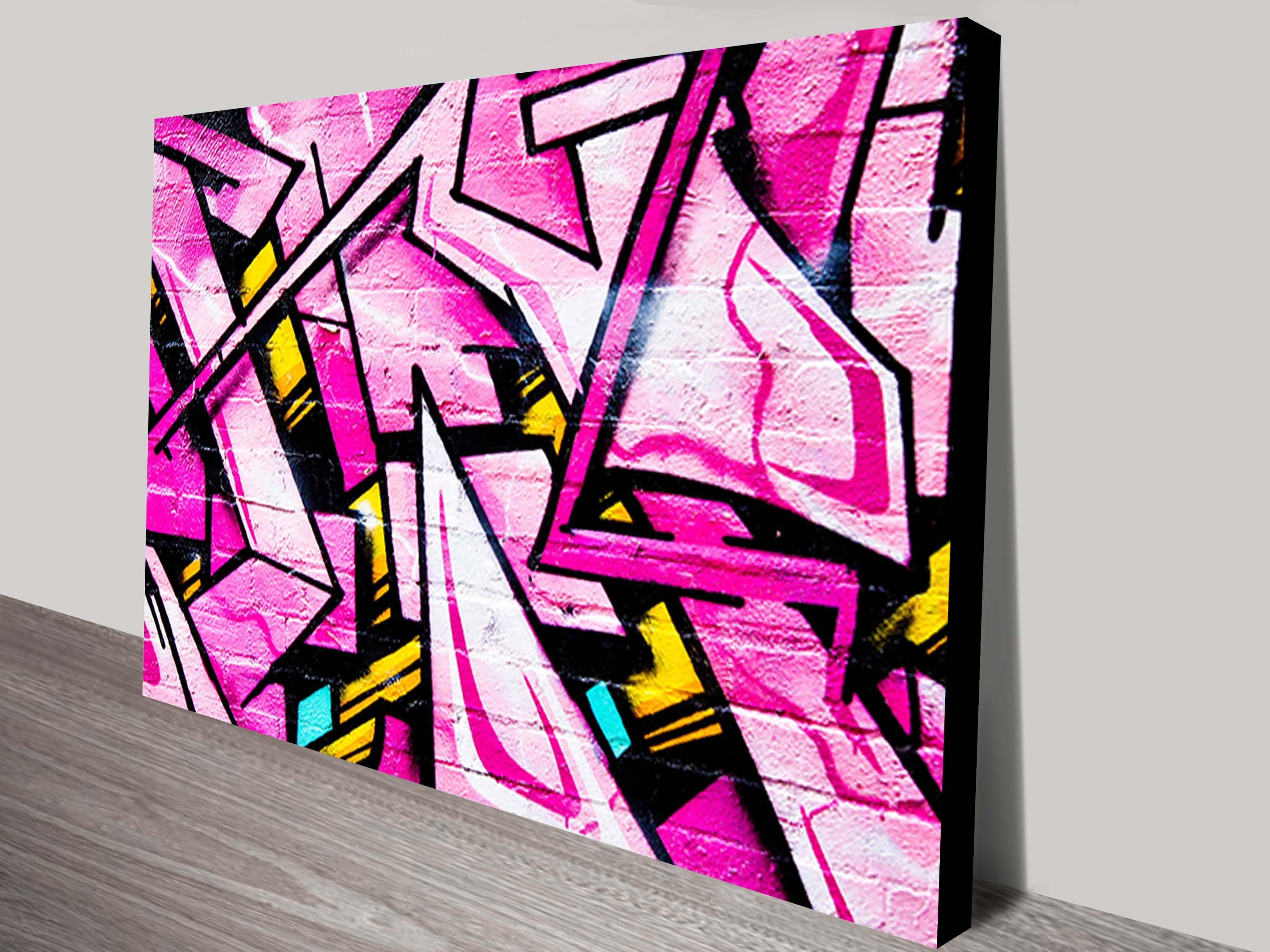 Graffiti Street Art On Canvas Brisbane Australia In Most Recent Brisbane Abstract Wall Art (Gallery 14 of 20)