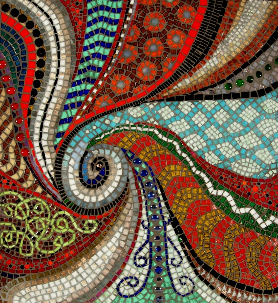 Great Wall Mosaic Designs : Design Decorating Ideas – Campinggecko For Most Recently Released Abstract Mosaic Wall Art (View 16 of 20)