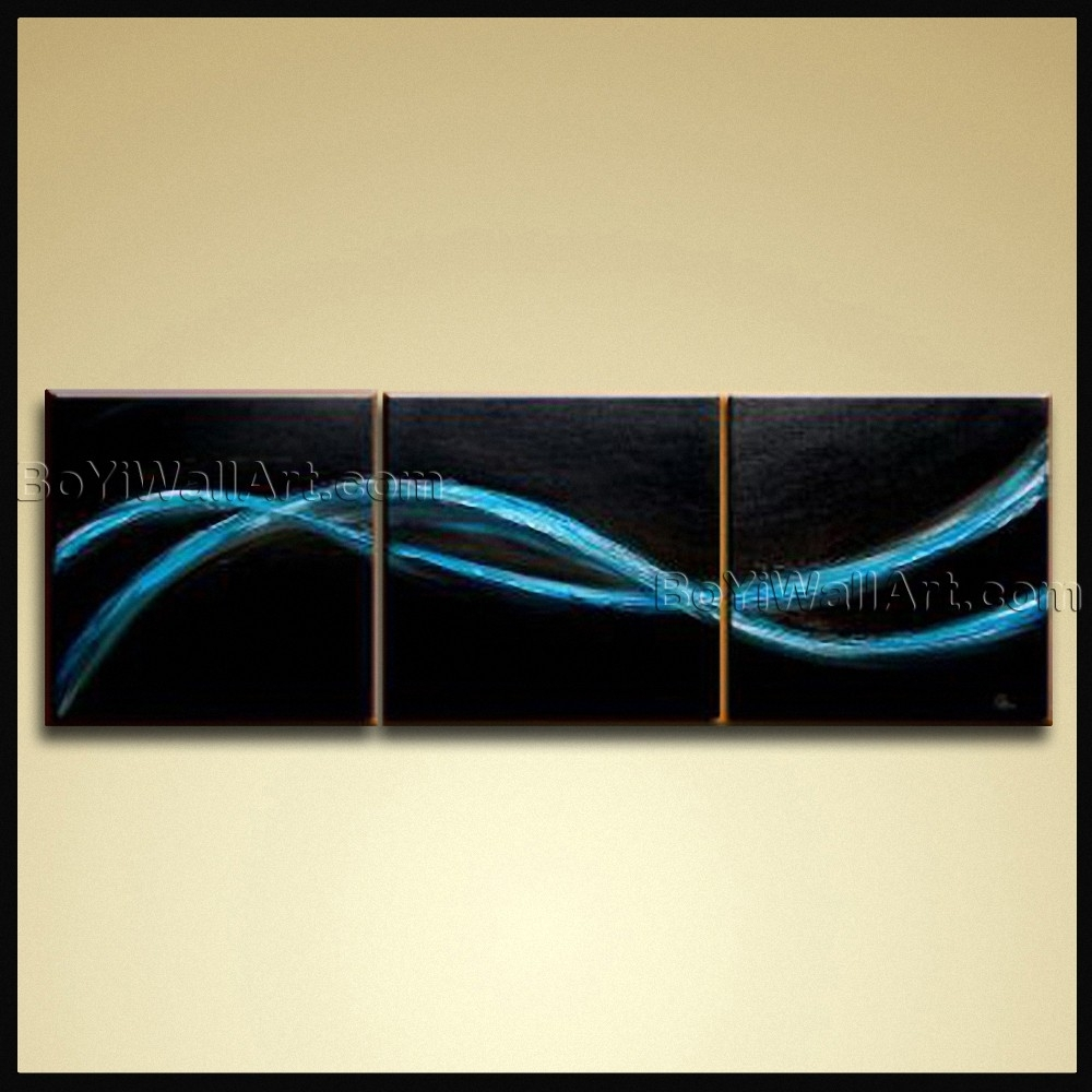 Hand Painted Oil Painting Canvas Contemporary Abstract Wall Art Intended For Best And Newest Modern Abstract Huge Oil Painting Wall Art (View 10 of 20)