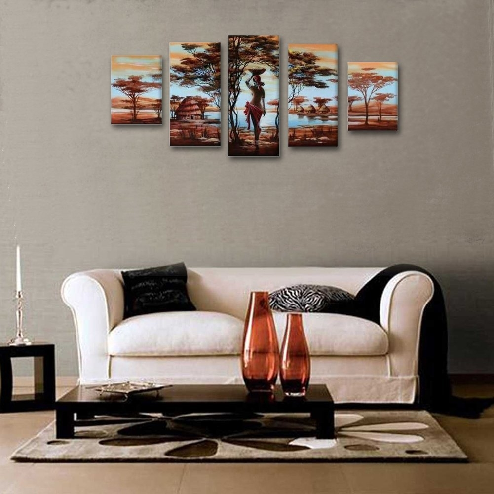 Handmade Wall Art Decor For Living Room : Ideas Of Wall Art Decor Within 2018 Abstract Wall Art For Living Room (View 9 of 20)