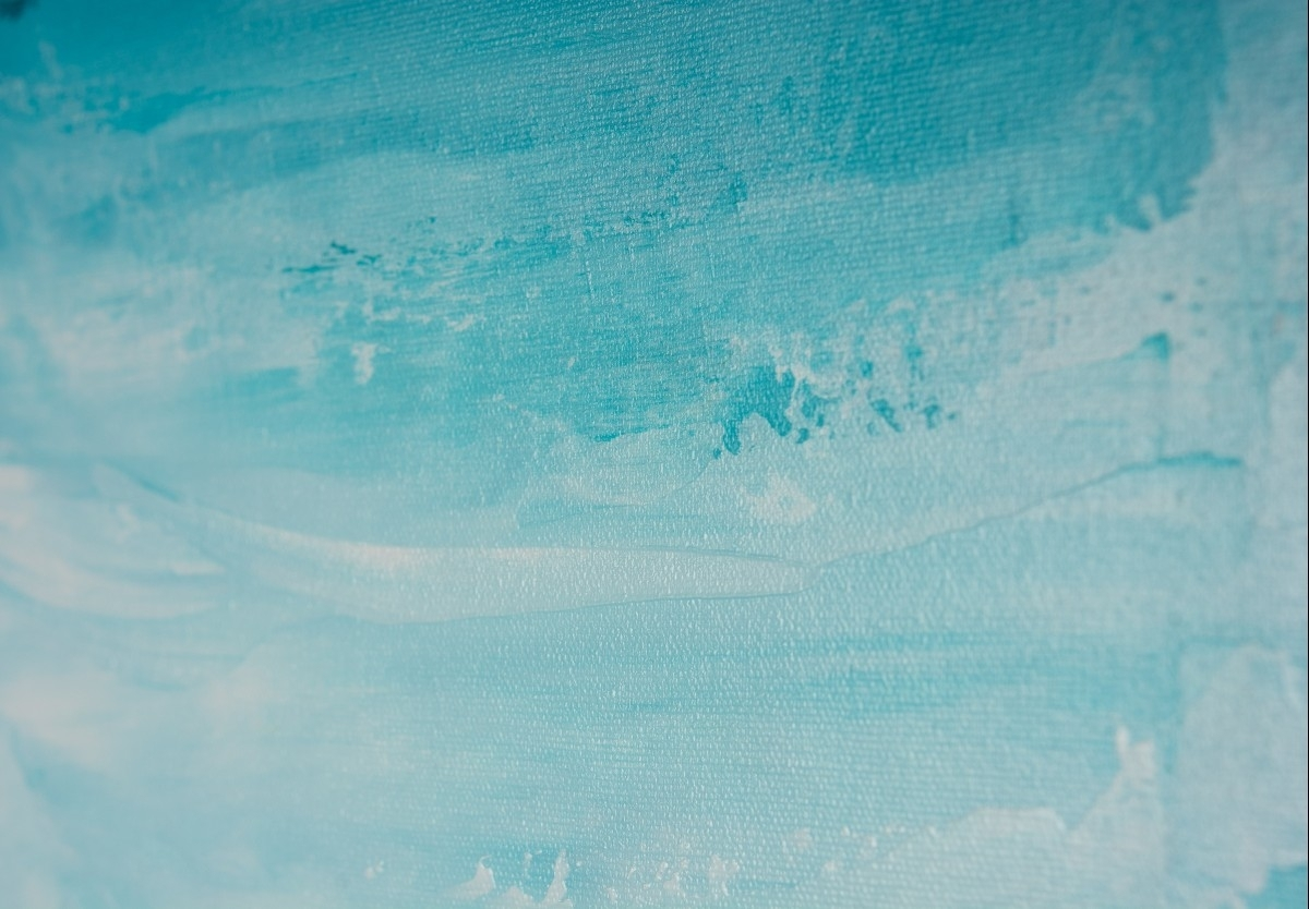 "Horizonqiqigallery 48"" X 24"" Abstract Seascape Painting Within Most Current Abstract Horizon Wall Art (View 13 of 20)"