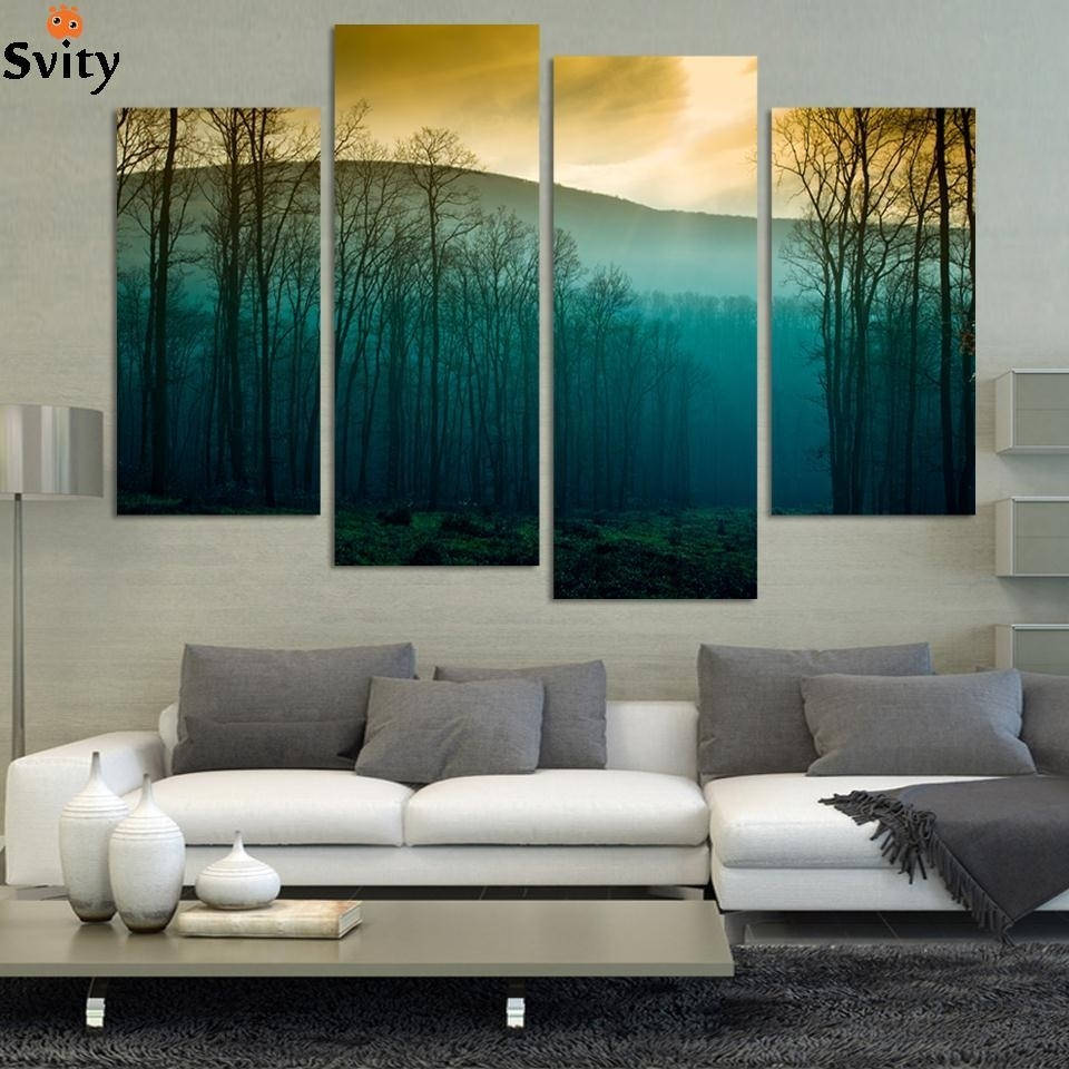 Hot Sale! Modern Abstract Huge Wall Art Painting On Canvas For Latest Modern Abstract Huge Wall Art (Gallery 3 of 20)