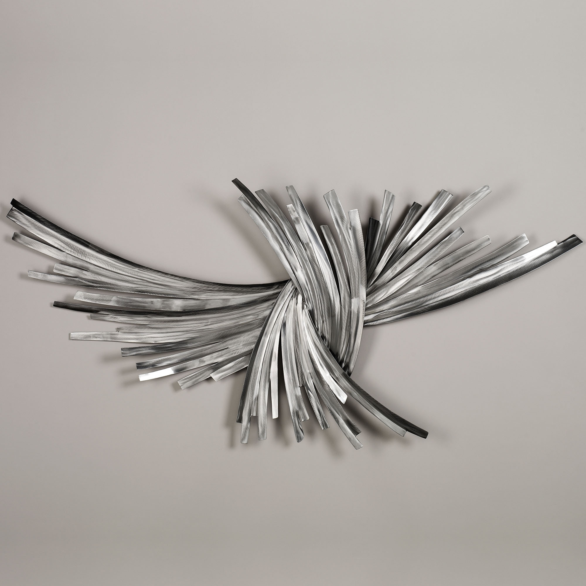 Infinity Silver Metal Wall Sculpture | Silver Walls, Wall For Current Abstract Metal Sculpture Wall Art (Gallery 17 of 20)