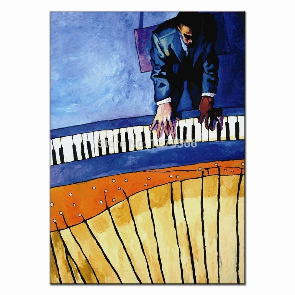 Inspiration 40+ Piano Wall Art Inspiration Of Piano Art Wood Wall Intended For Best And Newest Abstract Piano Wall Art (Gallery 13 of 20)
