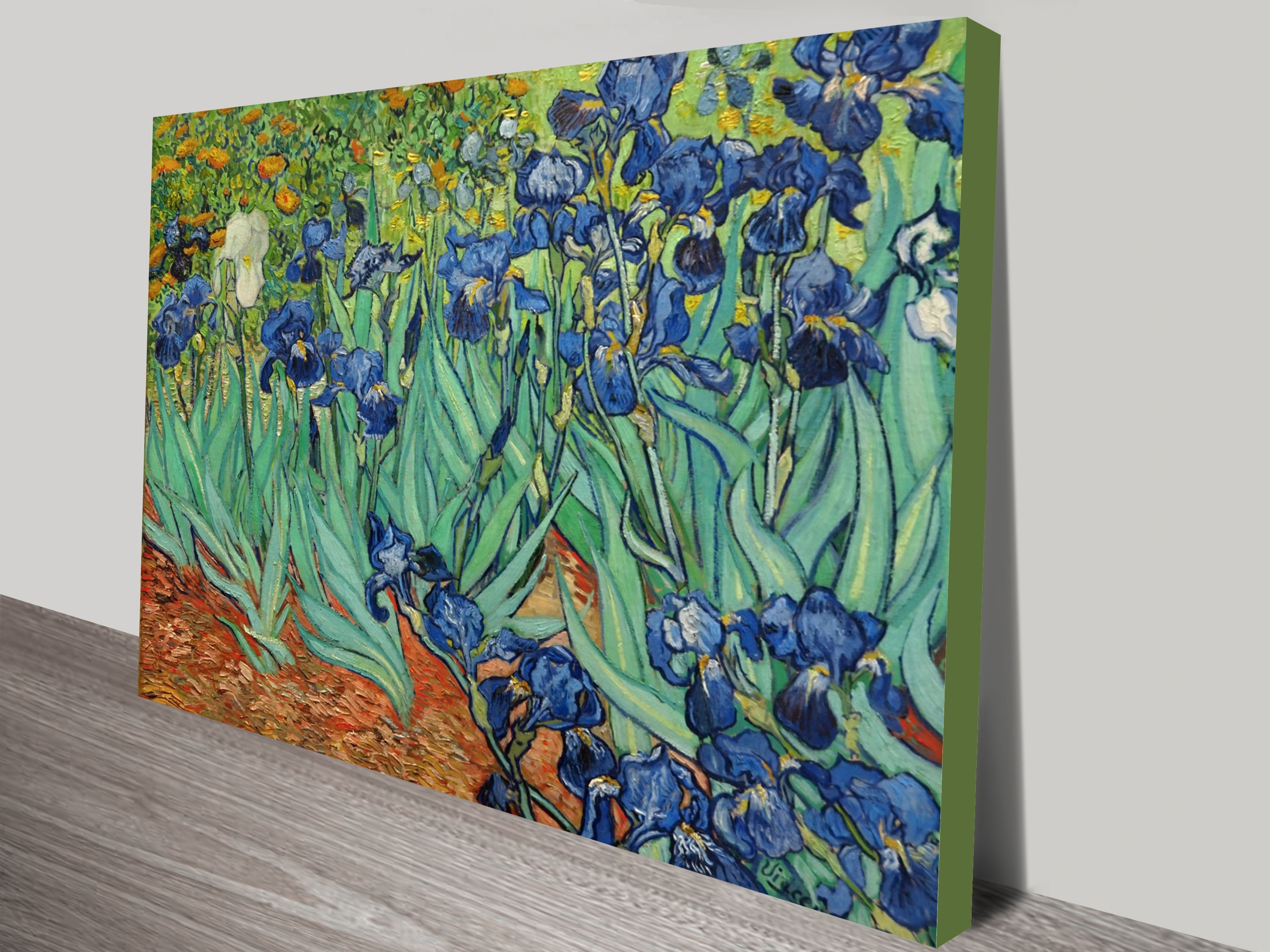 Irisesvincent Van Gogh Canvas Wall Art Print Perth Inside Most Recent Vincent Van Gogh Wall Art (Gallery 2 of 20)