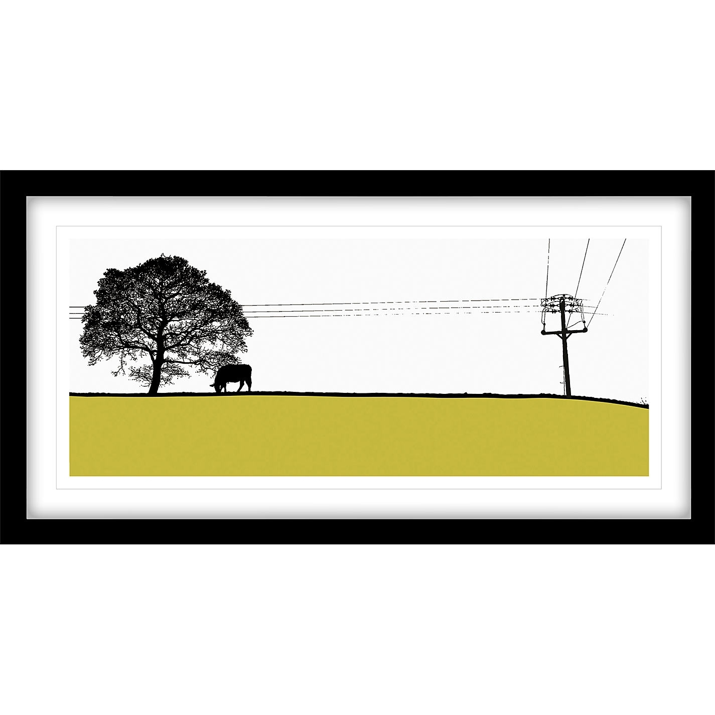 Jacky Al Samarraie  Yeadon Framed Print, 44 X 84Cm | John Lewis Throughout Current John Lewis Abstract Wall Art (View 7 of 20)