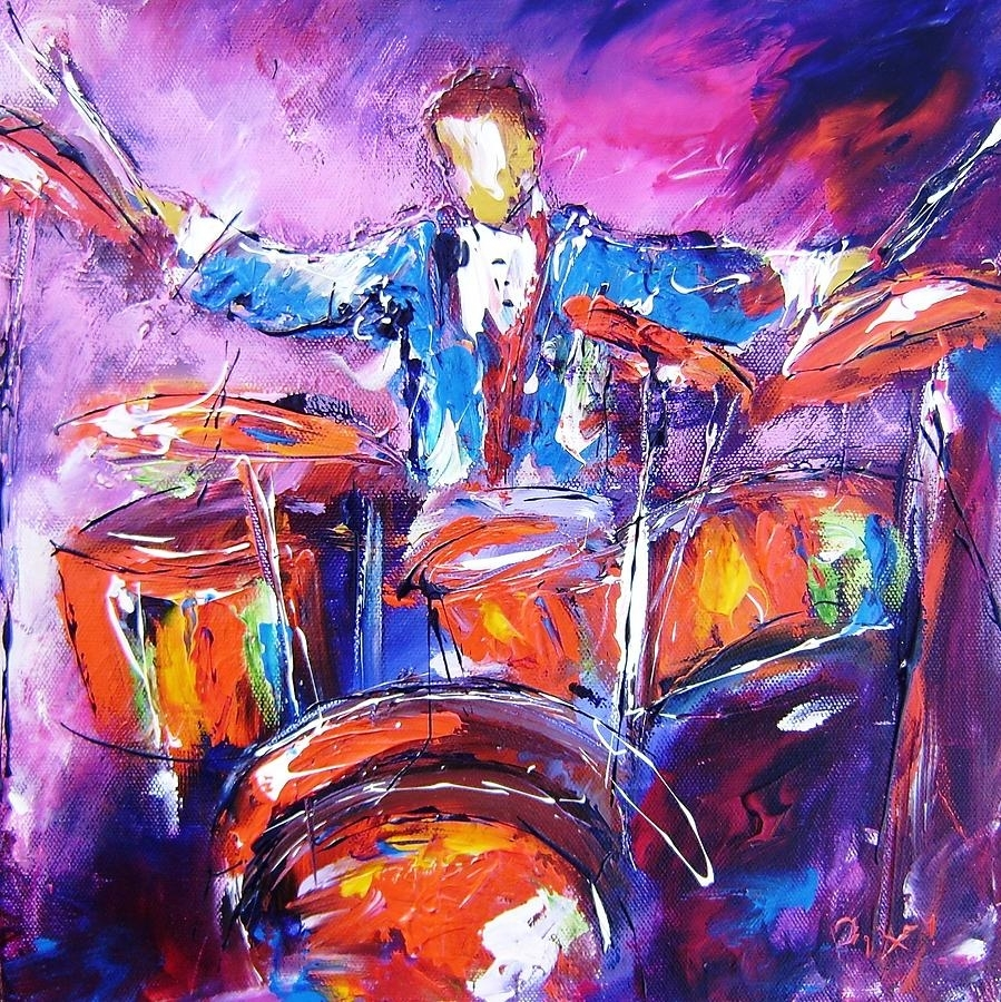 Jazz Drum Art – Google Search | ???????? | Pinterest | Art Google With Regard To 2017 Abstract Jazz Band Wall Art (View 9 of 20)