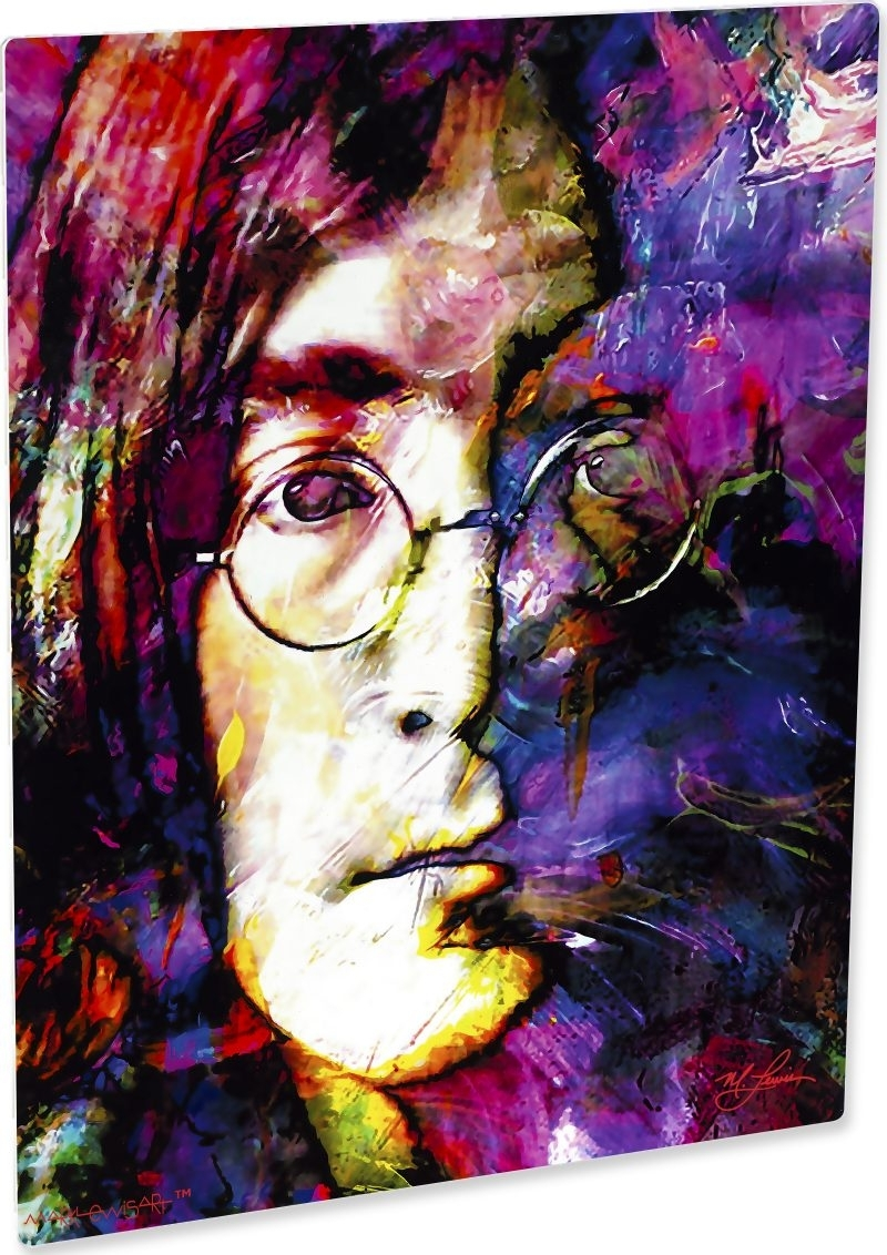 John Lennon Art Print Painting Exceptional Wall Decor | Mark Lewis Art With 2017 John Lewis Abstract Wall Art (Gallery 12 of 20)