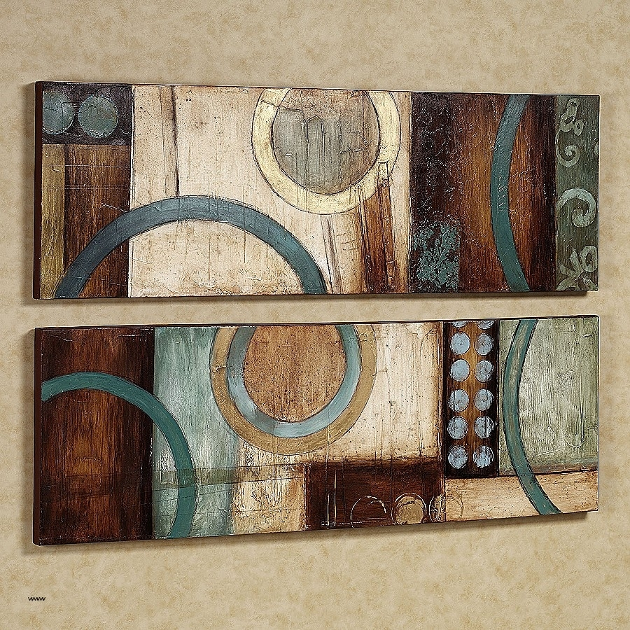 Kirkland Metal Wall Art Best Of Amazing Ideas Teal And Brown Wall Within 2018 Kirkland Abstract Wall Art (View 6 of 20)