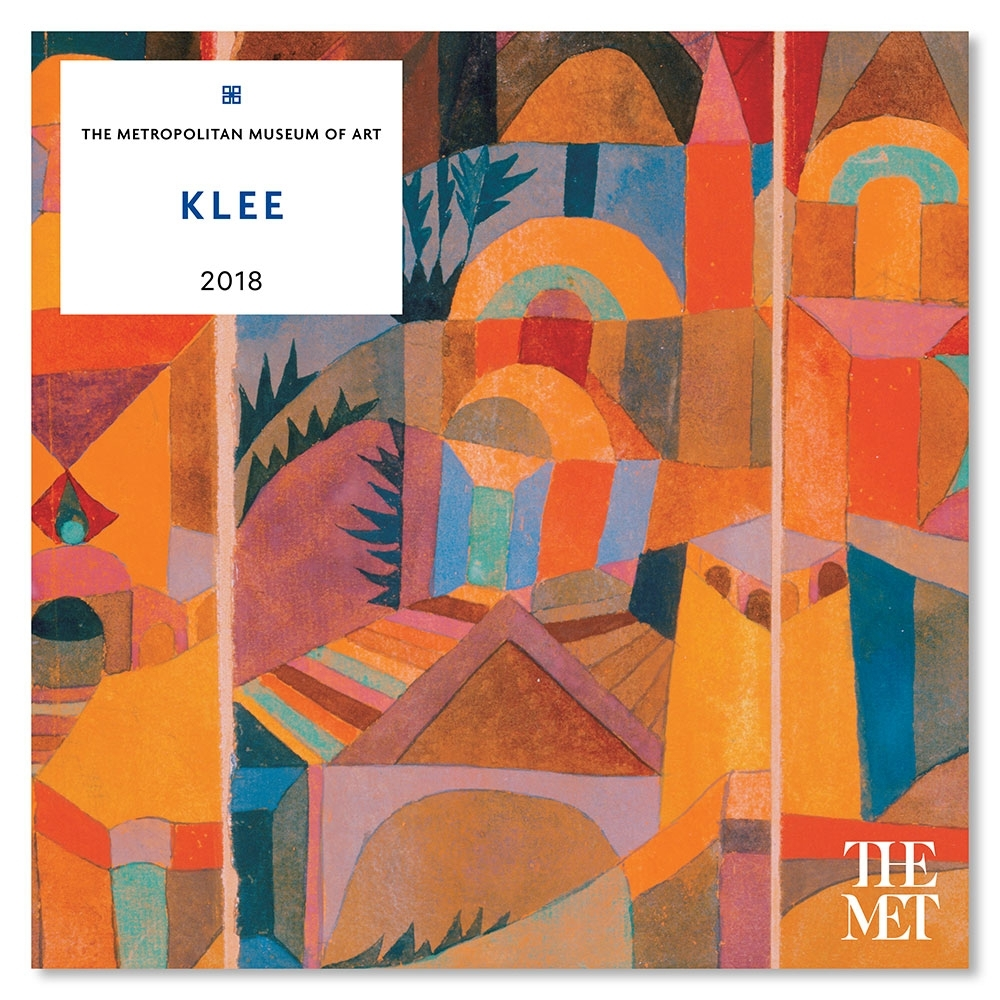 Klee Wall Calendar 2018 | Paul Klee, Calendar 2018 And Paintings With Most Popular Abstract Calendar Art Wall (View 16 of 20)