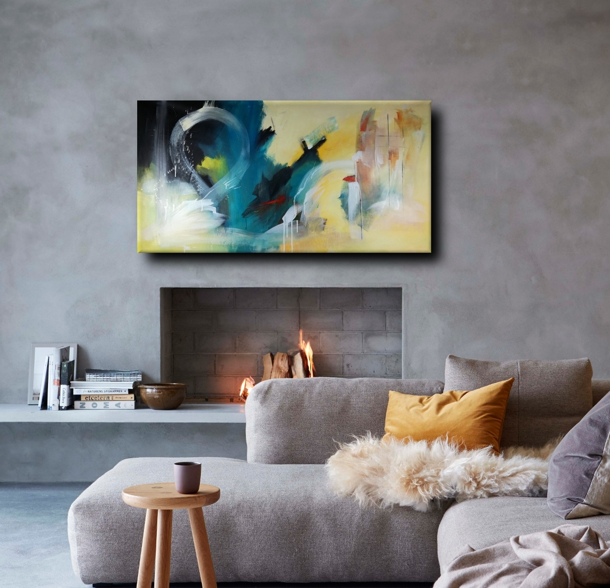 Large Abstract Canvas Wall Art 120X60 Intended For 2017 Large Abstract Canvas Wall Art (Gallery 13 of 20)