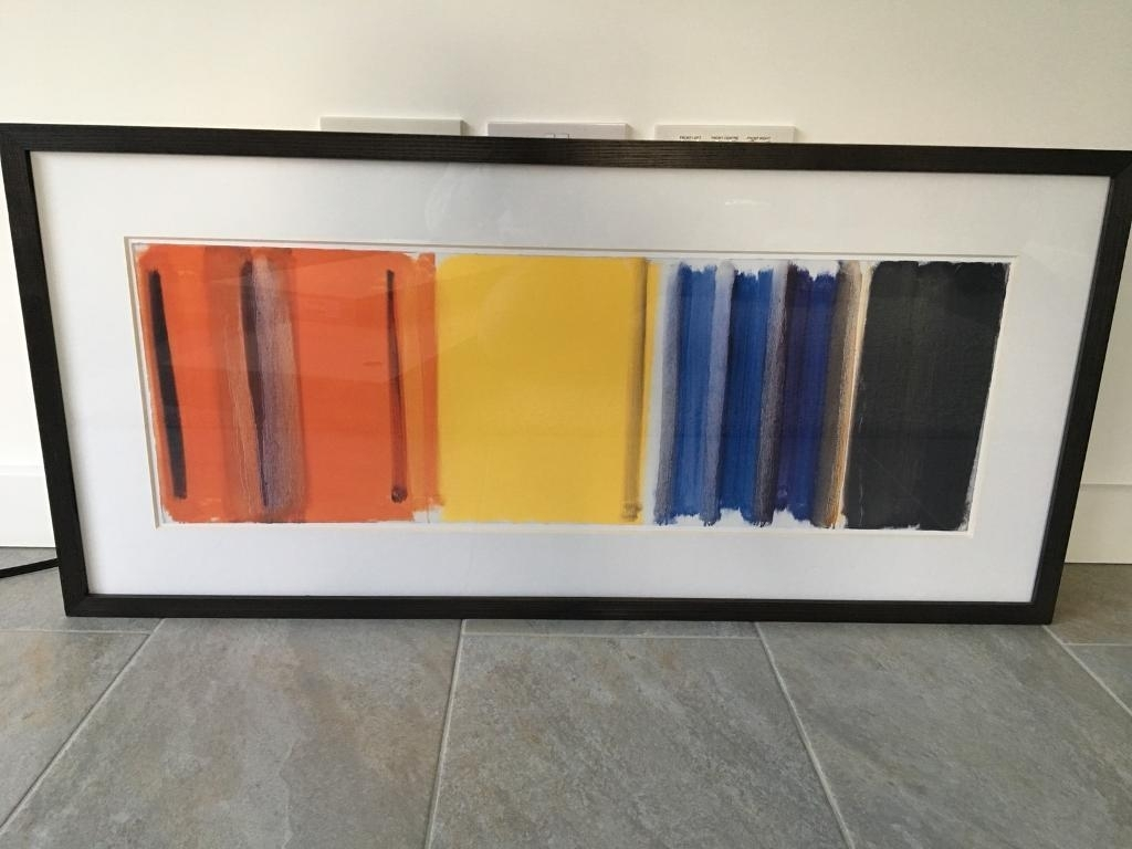 Large John Lewis Abstract Framed Print | In Gloucester Inside Latest John Lewis Abstract Wall Art (View 2 of 20)