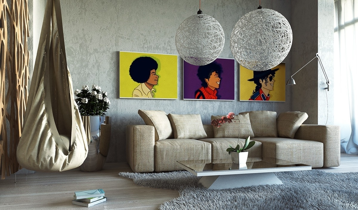 Large Wall Art For Living Rooms Ideas Inspiration Pictures Decor With 2017 Houzz Abstract Wall Art (View 4 of 20)