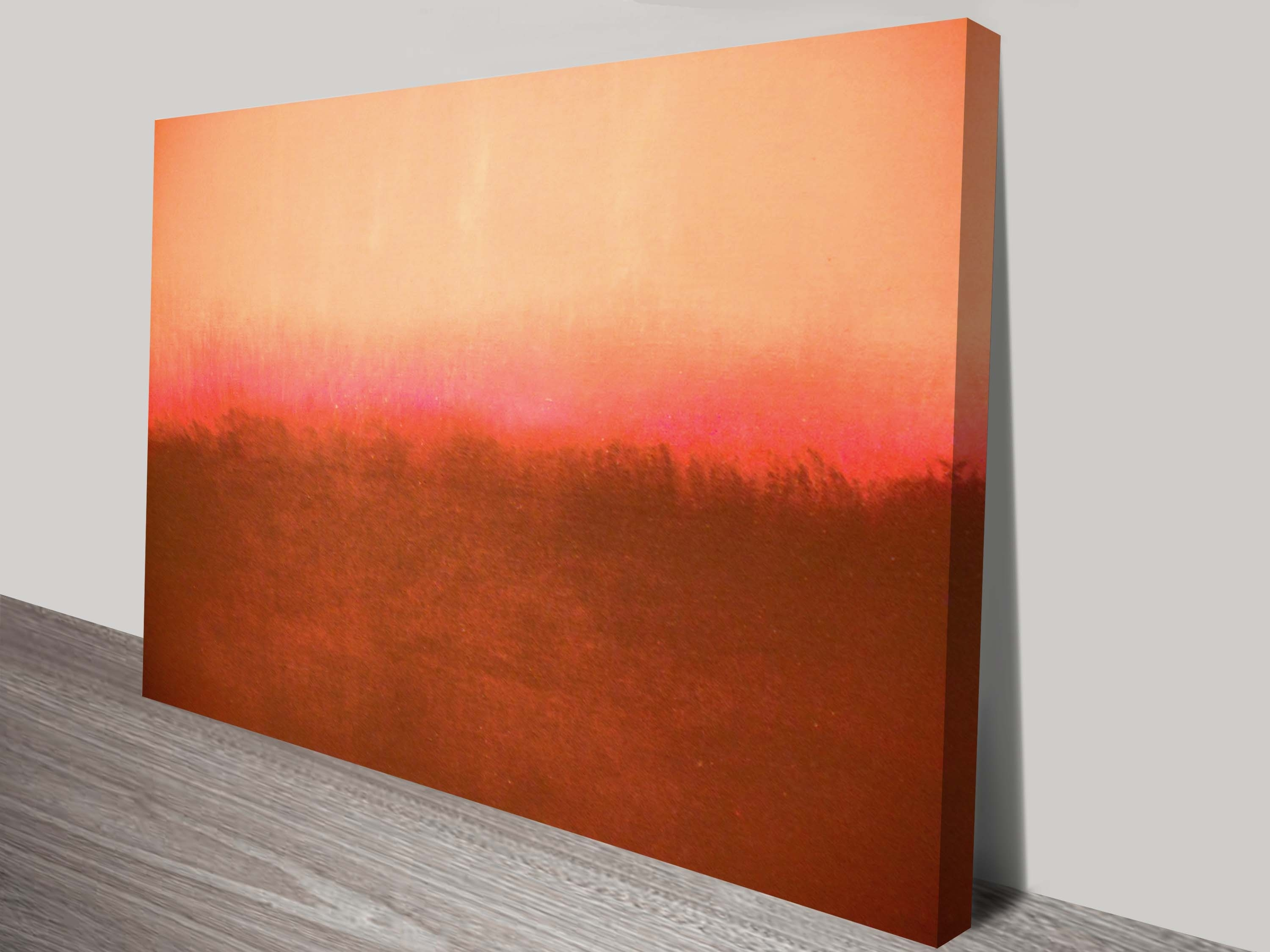 Mark Rothko Painting Print On Canvas With Best And Newest Abstract Wall Art Canvas (View 13 of 20)