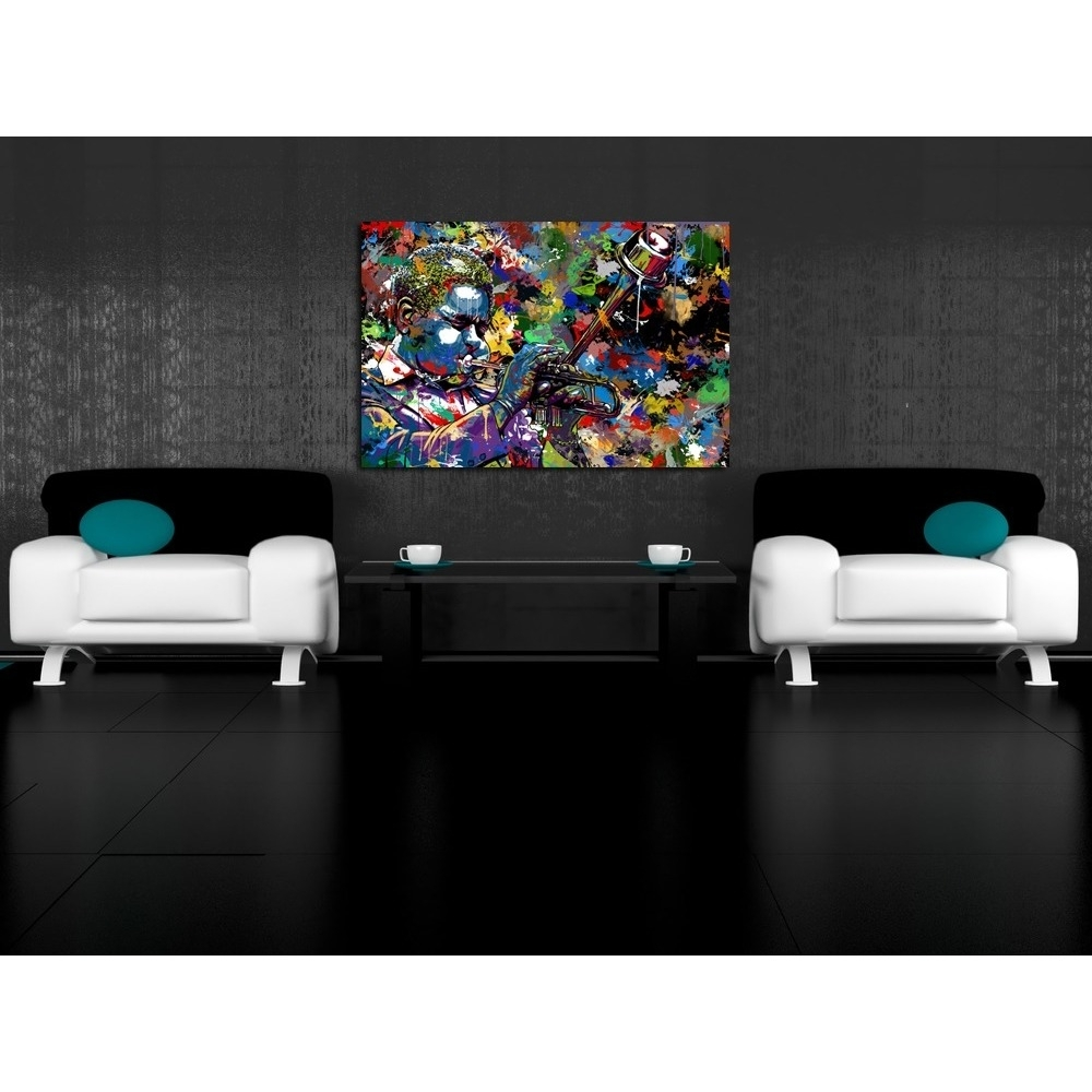 Maxwell Dickson 'jazz' Limited Edition Canvas Wall Art – Free Within Newest Limited Edition Canvas Wall Art (View 13 of 20)