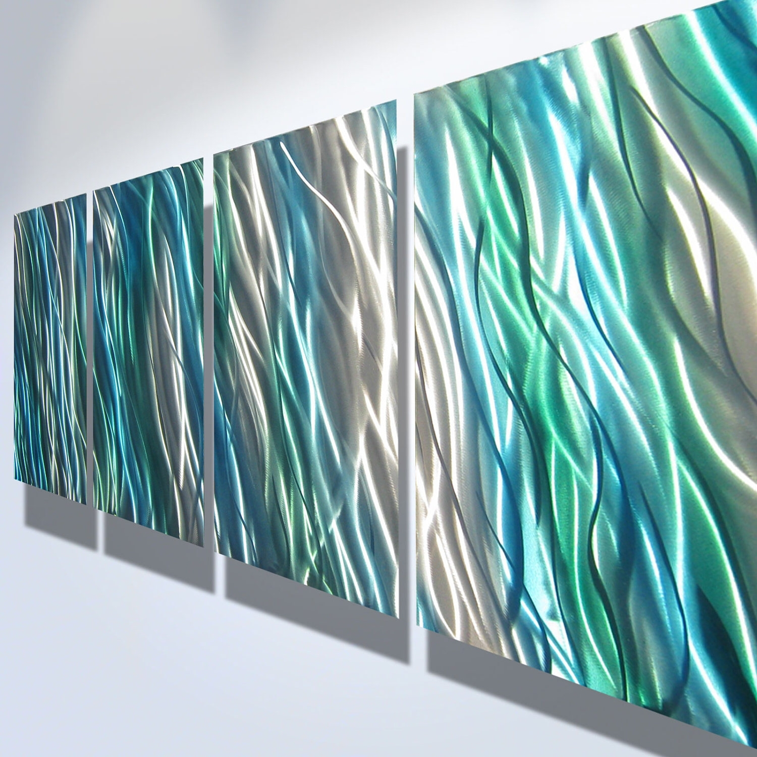 Metal Wall Art Decor Abstract Contemporary Modern Sculpture Intended For Most Popular Diy Modern Abstract Wall Art (View 14 of 20)