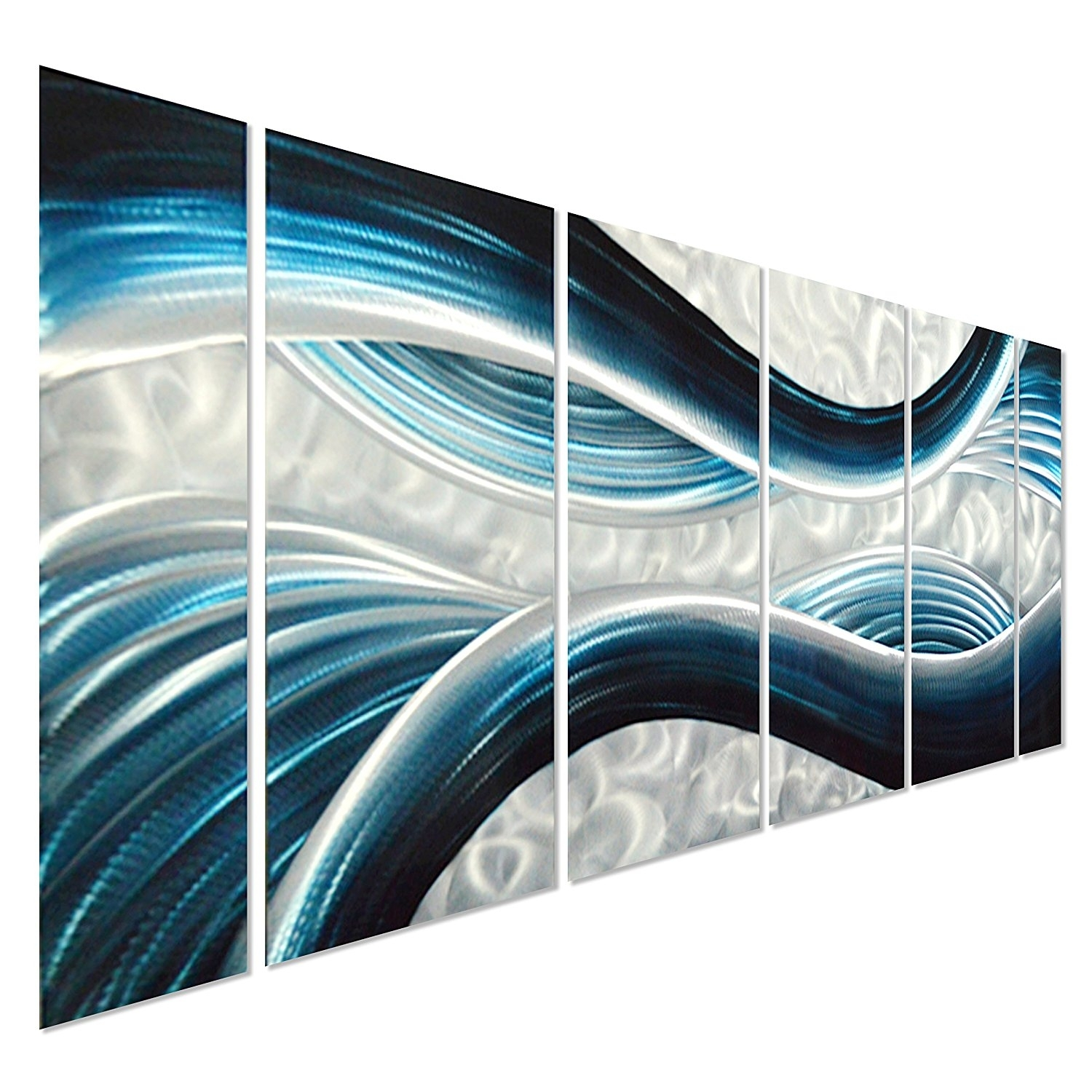 Metal Wall Art Panels Australia A Decal Amazon Blue Desire Large Intended For 2018 Abstract Ocean Wall Art (View 12 of 20)