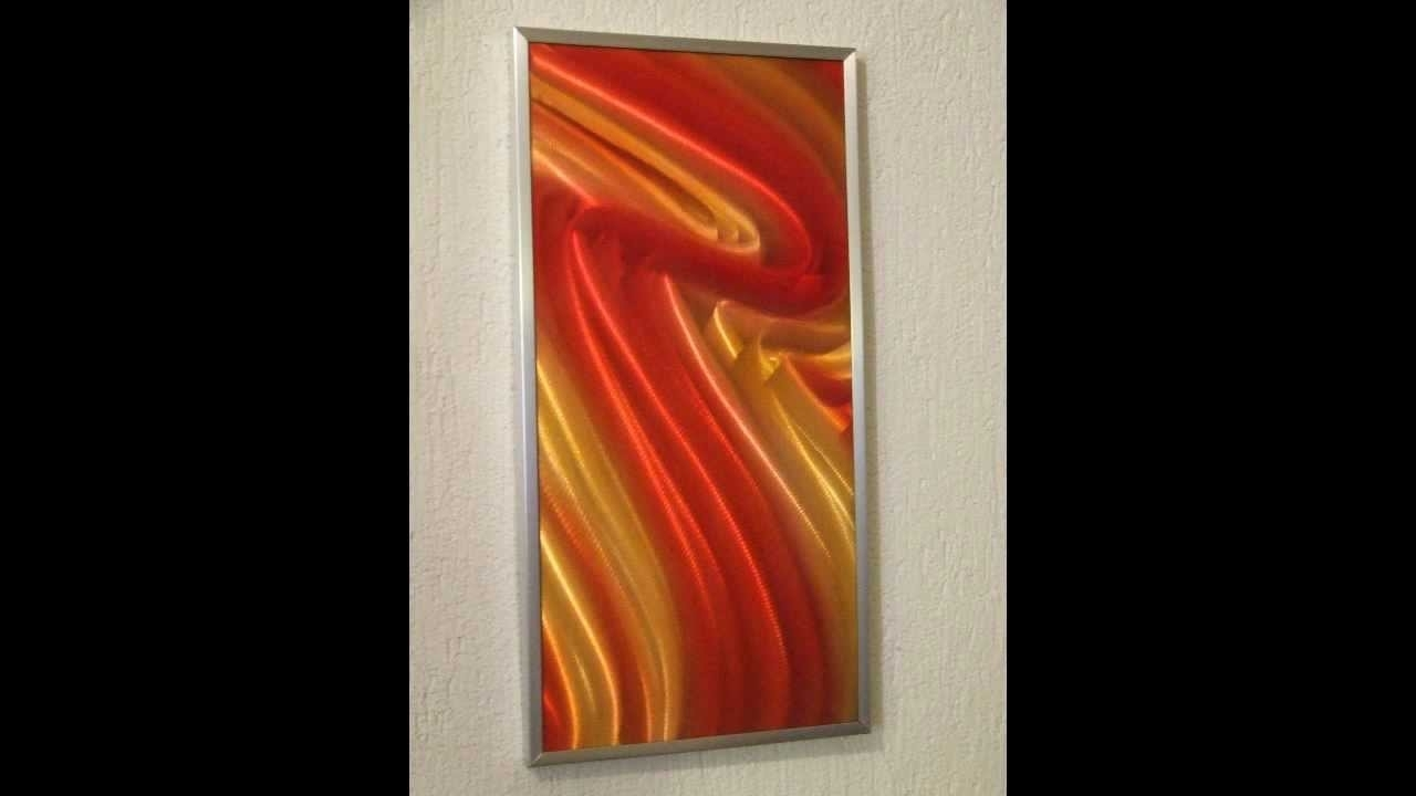 Modern Abstract Metal Wall Art – Youtube Intended For Latest Abstract Metal Wall Art Australia (View 9 of 20)