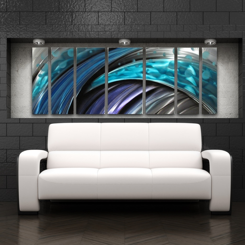 Modern, Industrial, And Contemporary – Metal Wall Art – Diy Pertaining To Latest Diy Modern Abstract Wall Art (Gallery 15 of 20)