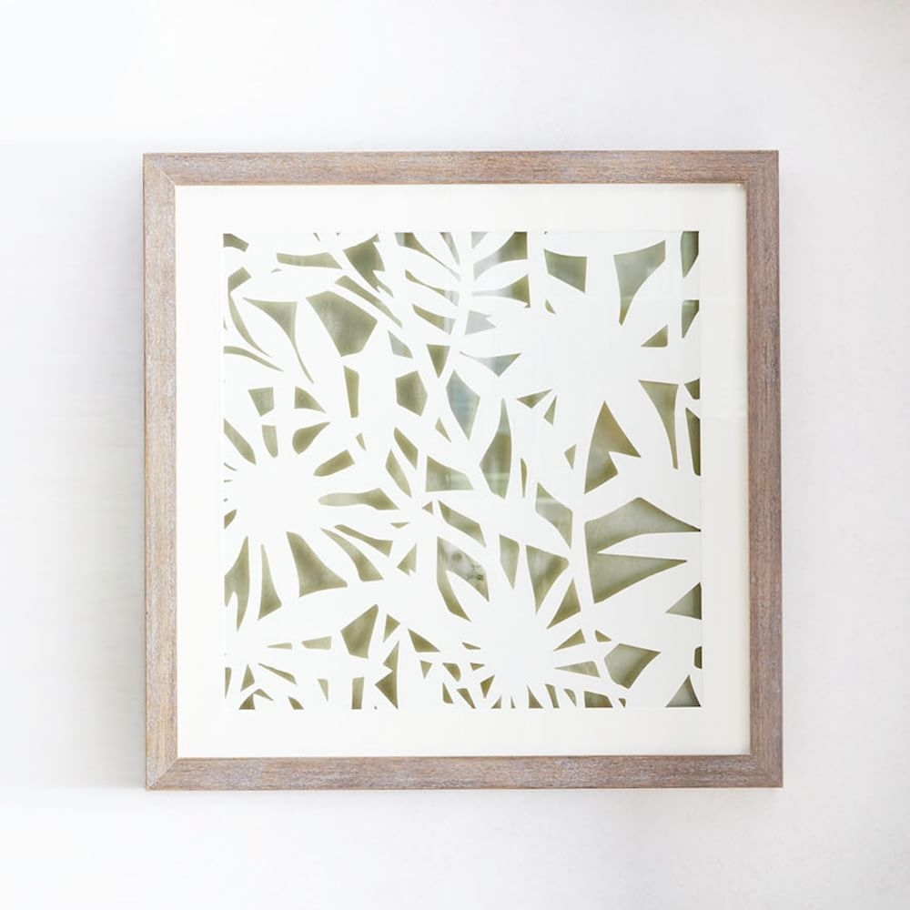 Modern Paper Cut Out Wall Art – Flower | Living Room Inspiration With Most Current West Elm Abstract Wall Art (Gallery 19 of 20)