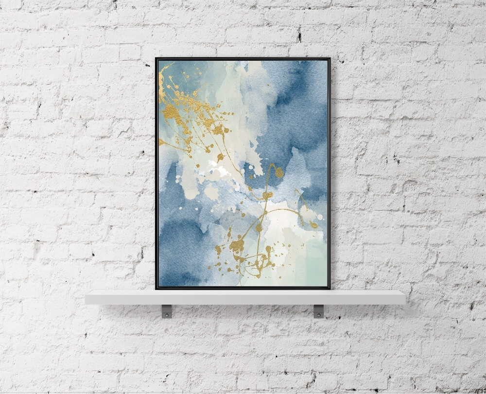 Modern Printable Wall Art Pastel Print Abstract Paint Watercolor Intended For Best And Newest Printable Abstract Wall Art (View 10 of 20)