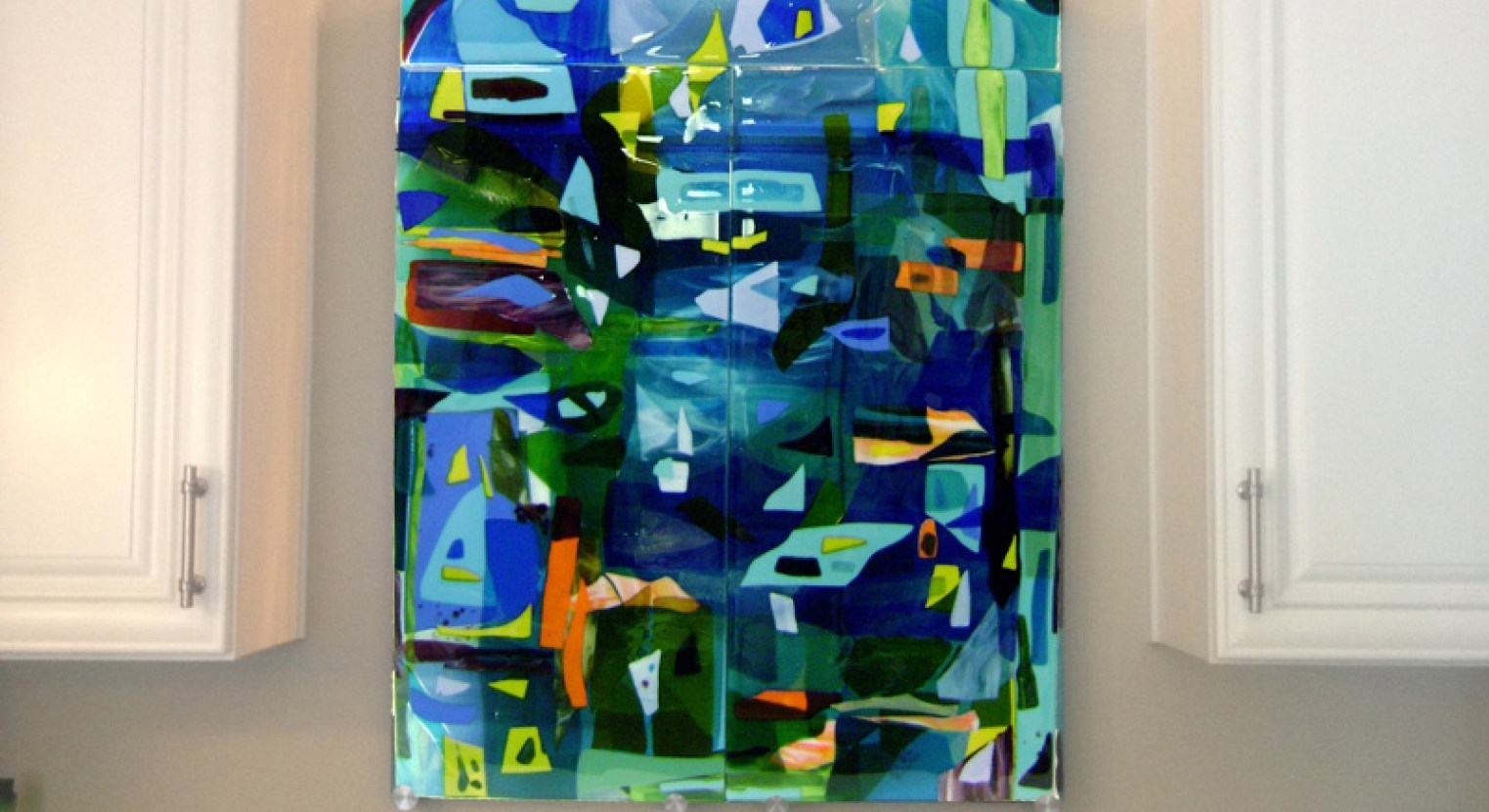 Mural : Abstract Wall Mural Enthrall Abstract Wall Murals Cheap Intended For 2018 Abstract Fused Glass Wall Art (Gallery 19 of 20)