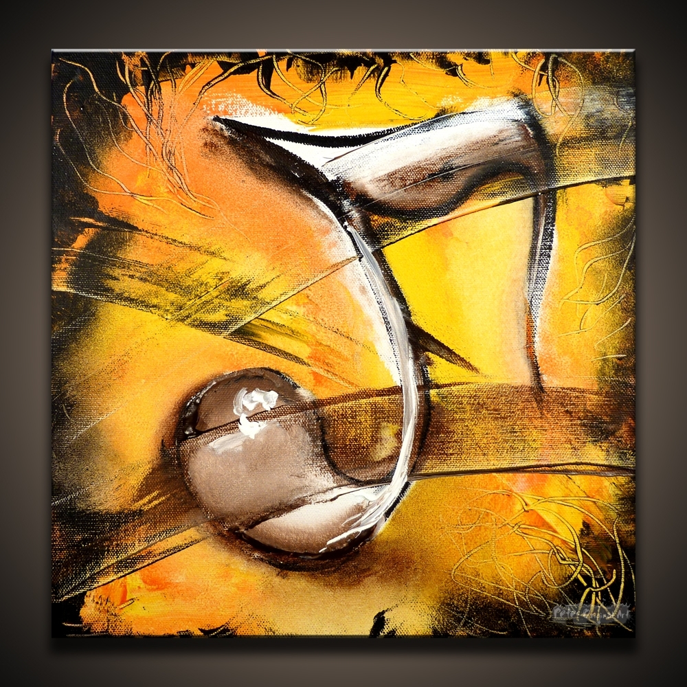 Musical Canvas Painting Ideas Abstract | Abstract Painting Of A With Regard To Most Current Abstract Musical Notes Piano Jazz Wall Artwork (View 14 of 20)