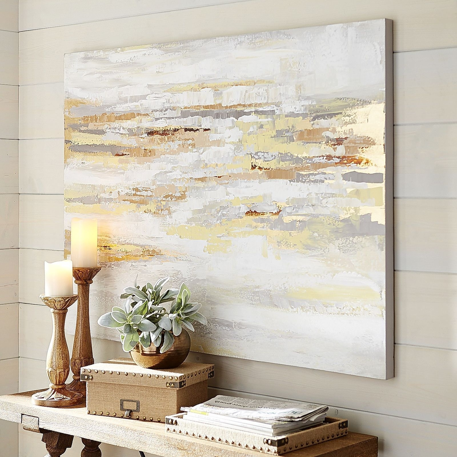 Muted Shades Multiply Your Options When Considering Wall Art For Inside 2018 Neutral Abstract Wall Art (View 2 of 20)
