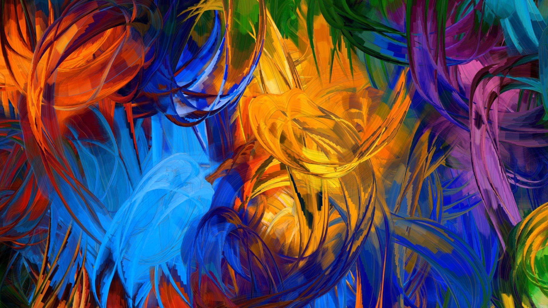 Nature, Abstract, Painting, Android Wallpapers, Colorful, Download Throughout Current Abstract Nature Wall Art (View 17 of 20)