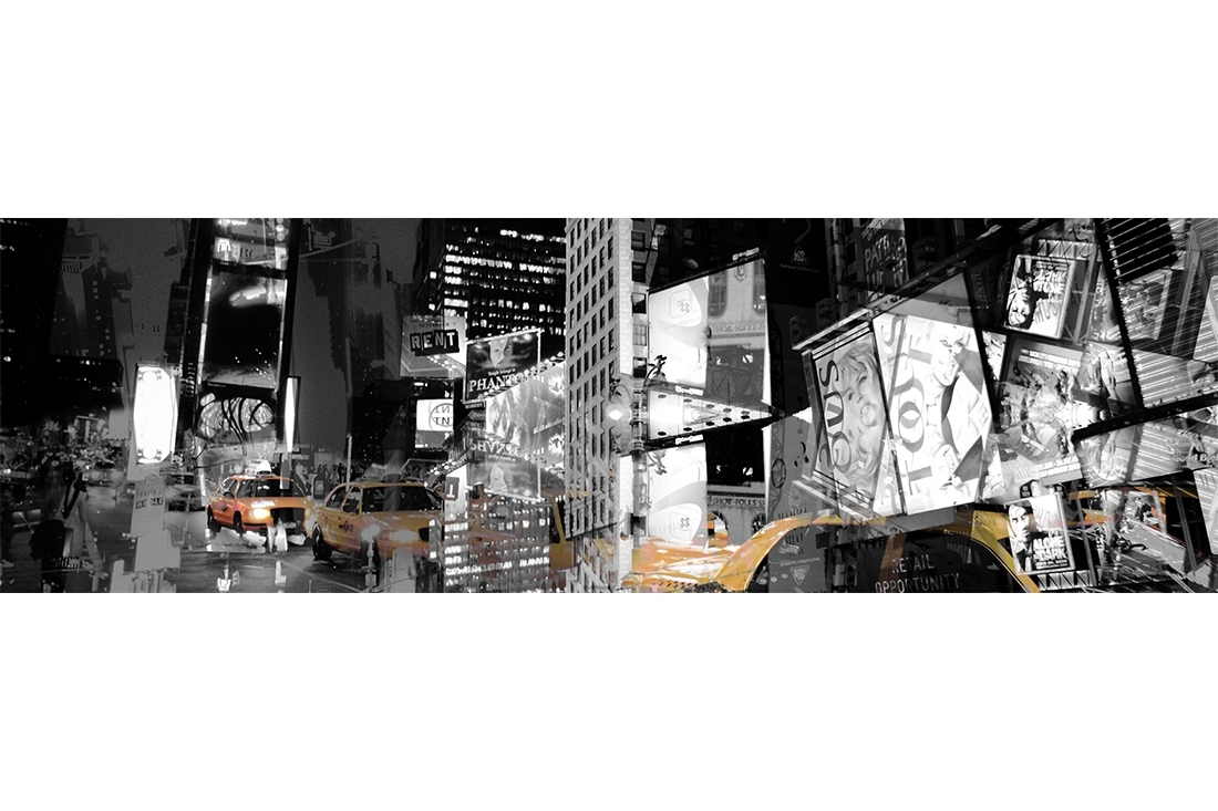 New York Wall Art – Adam Barrell Pertaining To Latest Abstract Graphic Wall Art (Gallery 15 of 20)