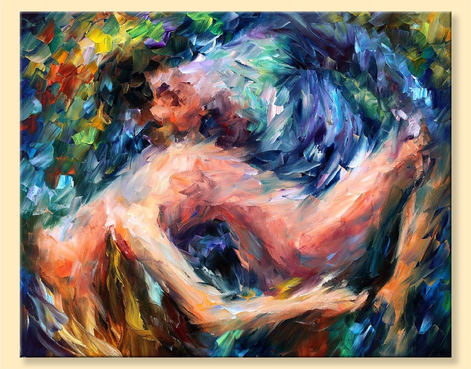 Nude Wall Art – Sea Of Feelings — Limited Edition Naked Woman For Latest Limited Edition Wall Art (View 10 of 20)