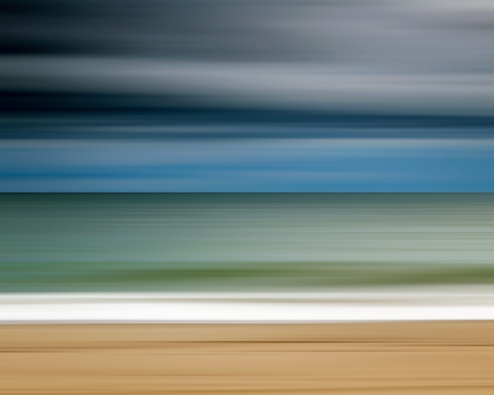 "Ocean Storm"" – Martha's Vineyard Abstract Beach In Newest Abstract Beach Wall Art (Gallery 2 of 20)"