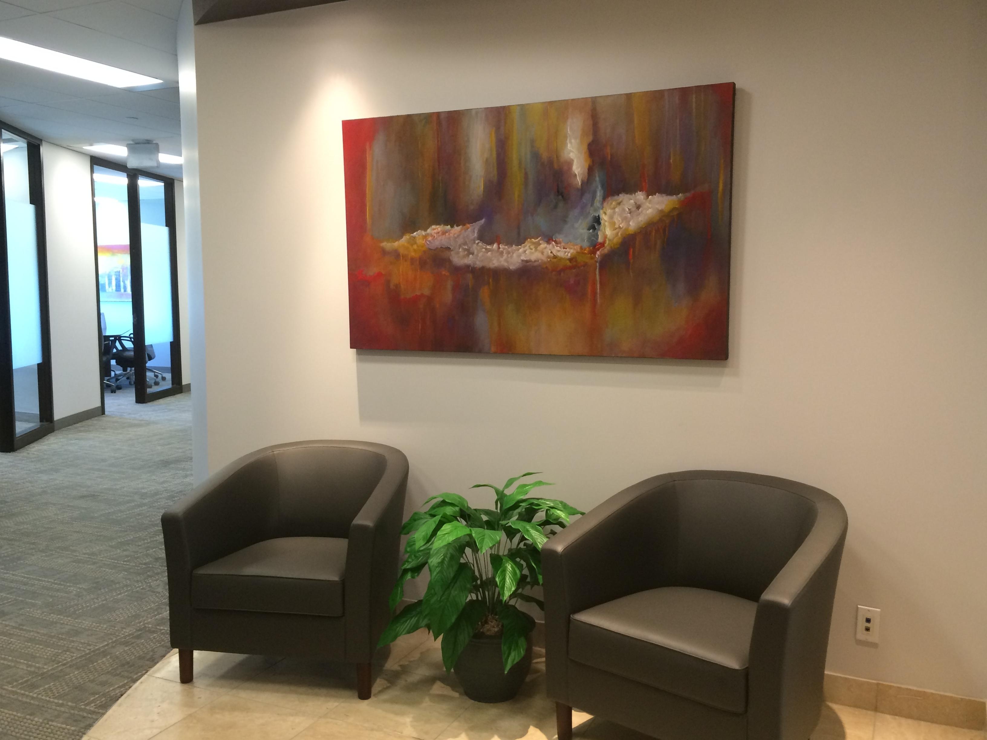 Office Lobby, Artworksoraya Silvestri (View 13 of 20)
