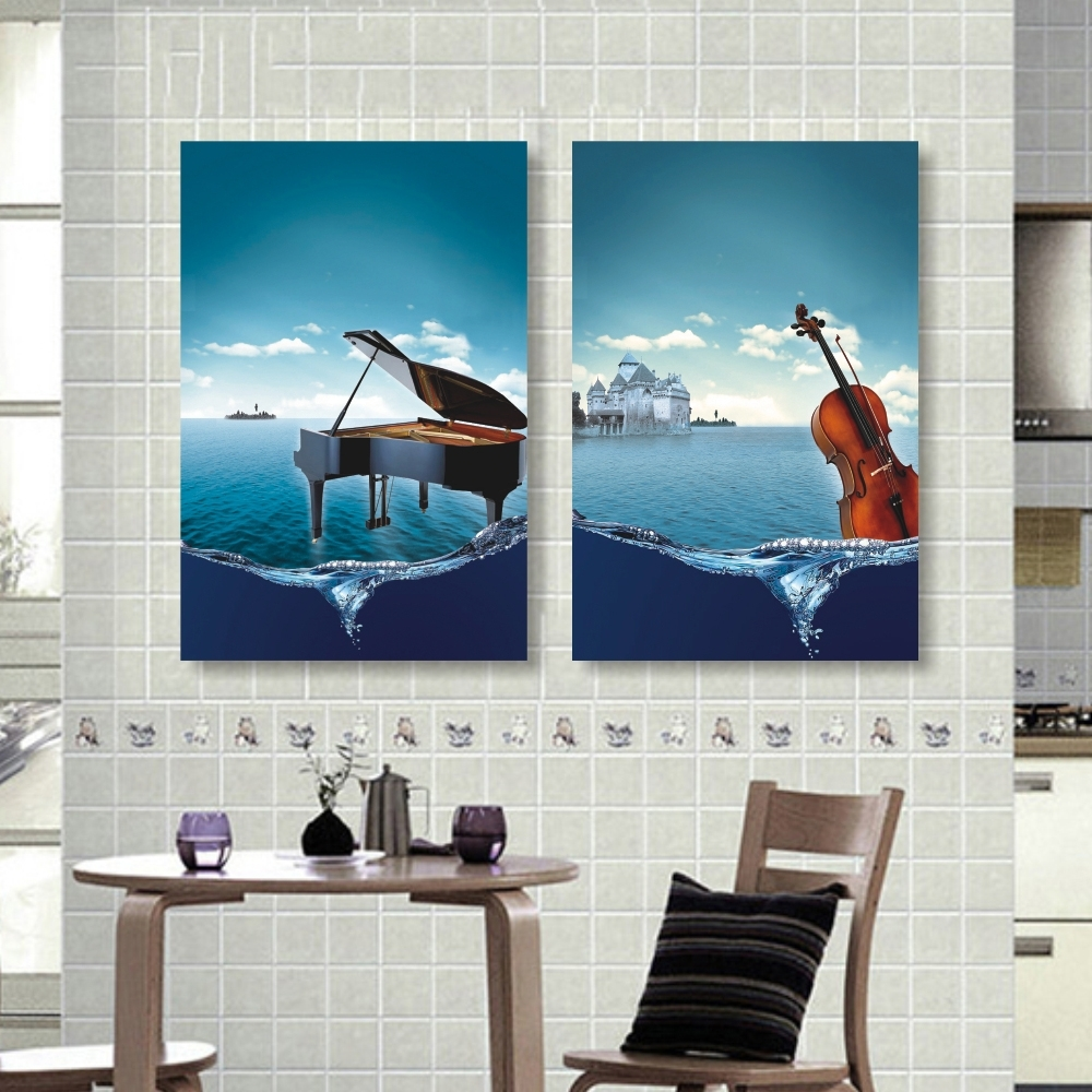 Online Get Cheap Decoration On Wall Piano -Aliexpress within Most Recently Released Abstract Piano Wall Art