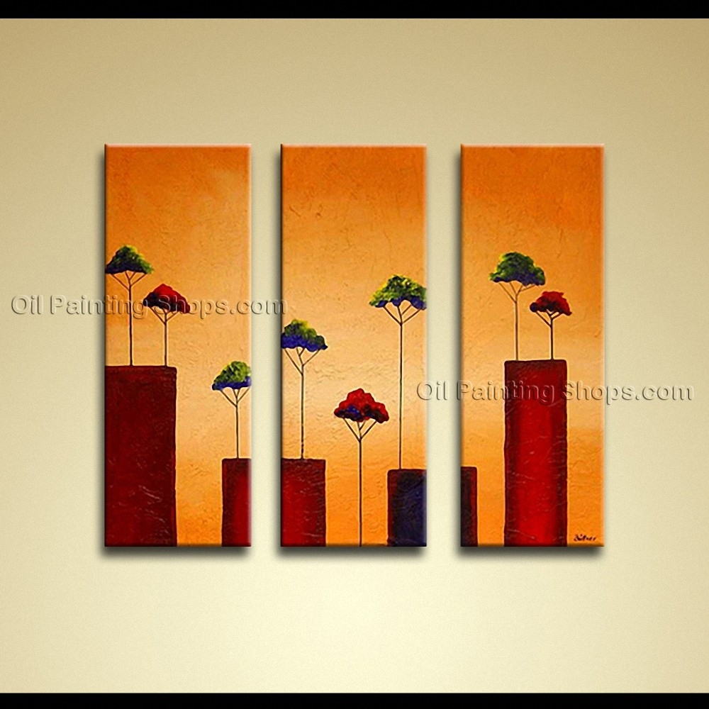 Painted Elegant Modern Abstract Painting Wall Art Decoration Ideas With Most Up To Date Modern Abstract Wall Art Painting (Gallery 14 of 20)