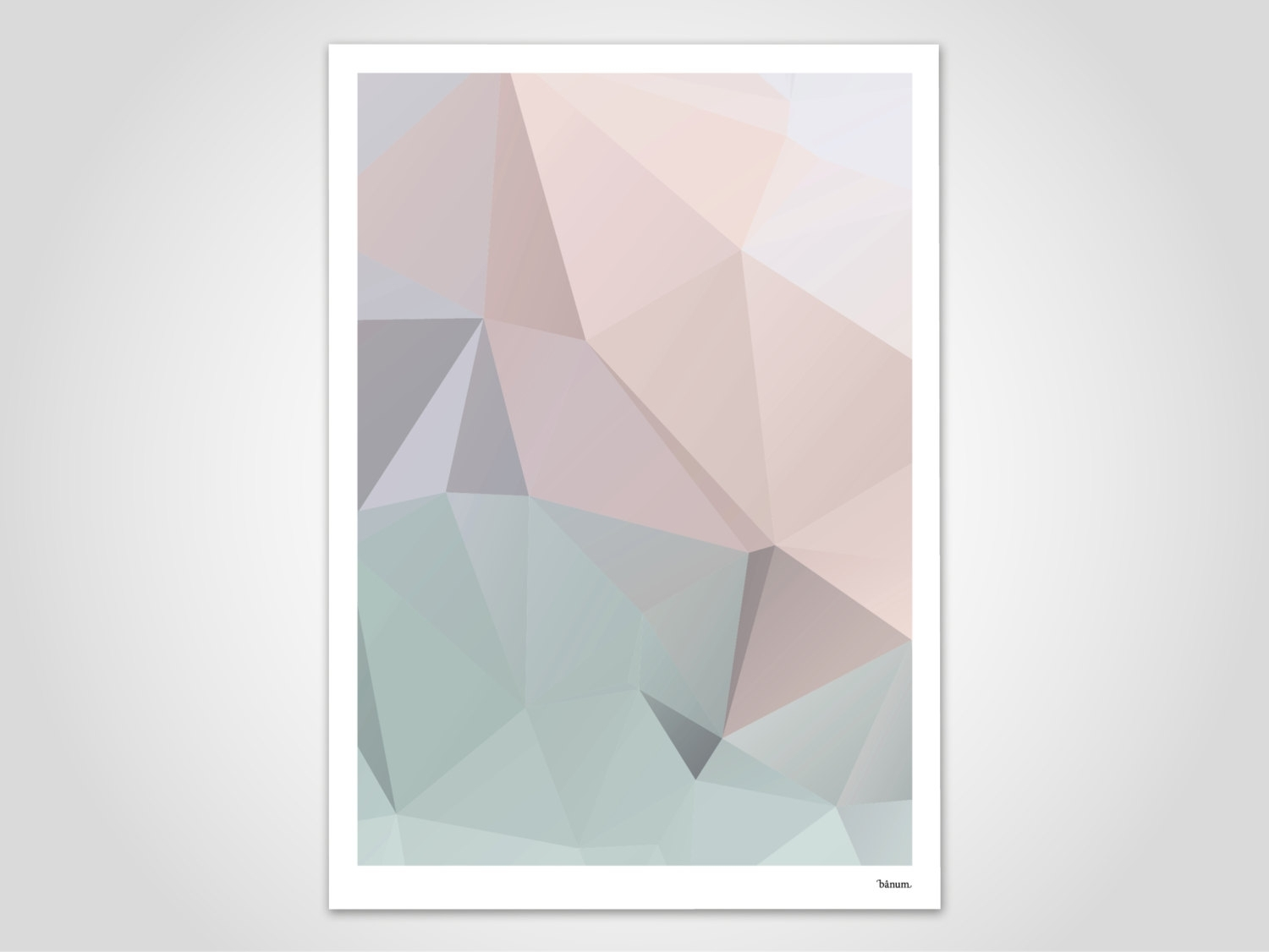 Pastel 2 – Modern Poster, Abstract Art Prints, Modern Wall Art Regarding Newest Pastel Abstract Wall Art (View 16 of 20)