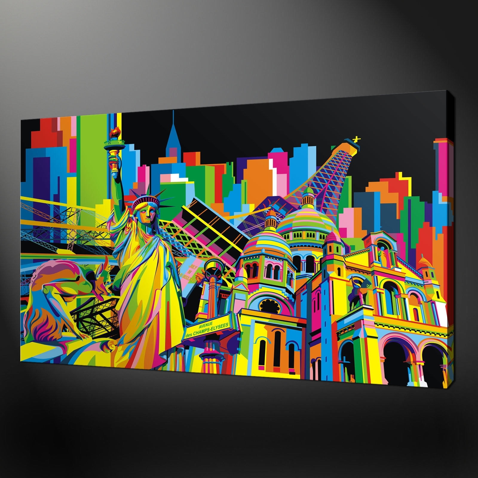 Pop Art Wall Com 2017 Including Mural Pictures Simple Designing Within Current Abstract Art Wall Murals (View 19 of 20)
