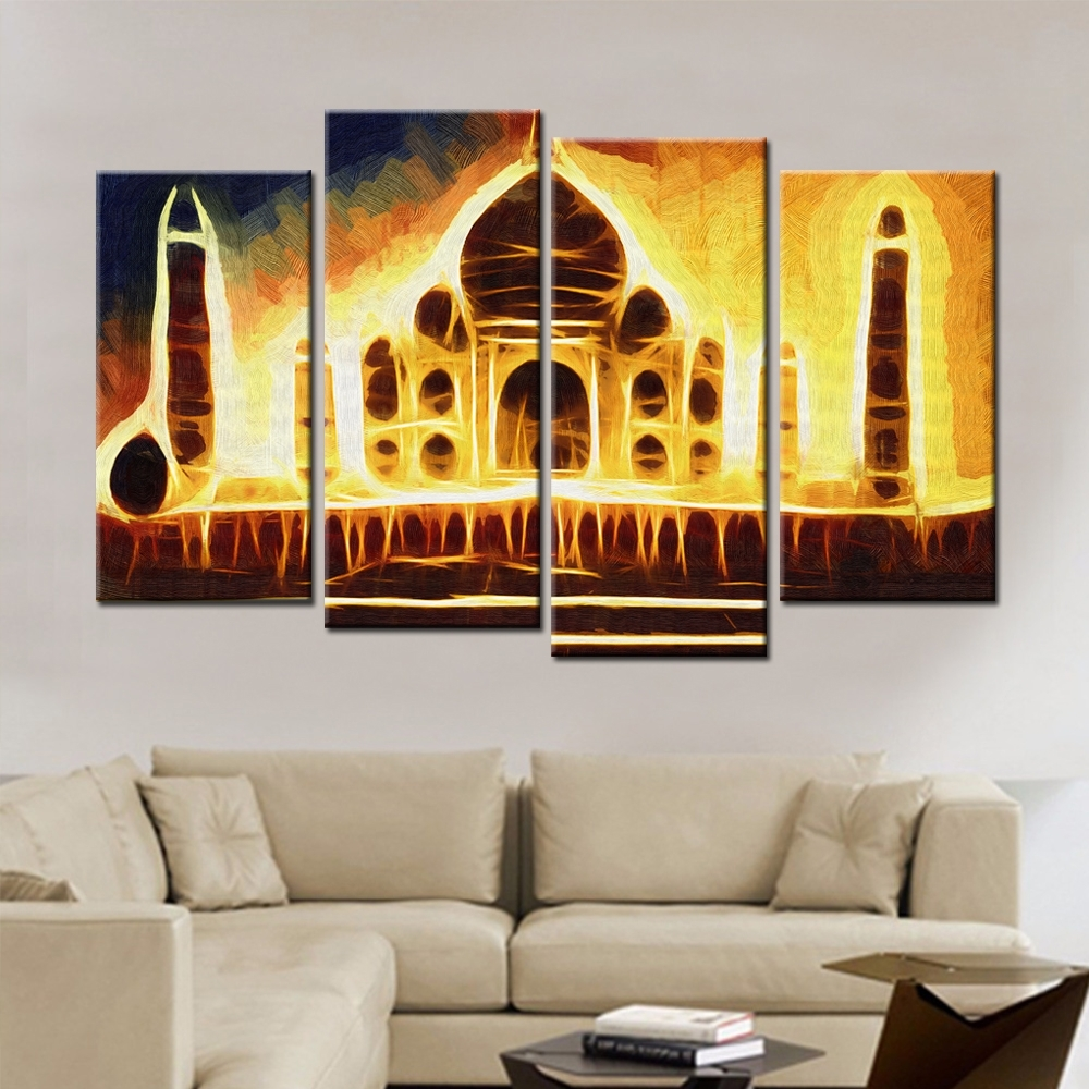 Popular India Abstract Buy Cheap India Abstract Lots From China Regarding Current India Abstract Wall Art (View 2 of 20)