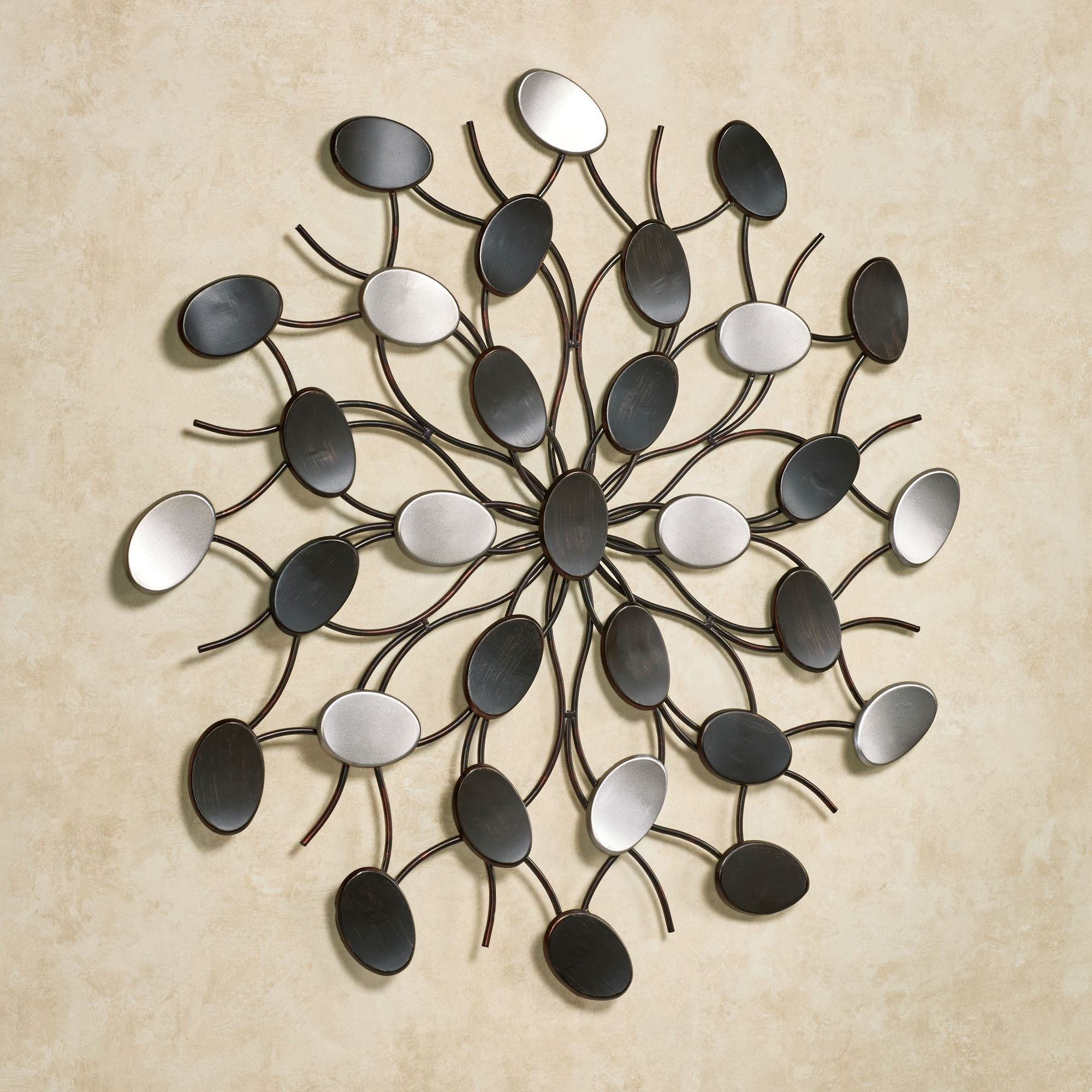 Radiant Petals Abstract Metal Wall Art In Most Popular Abstract Outdoor Wall Art (View 8 of 20)