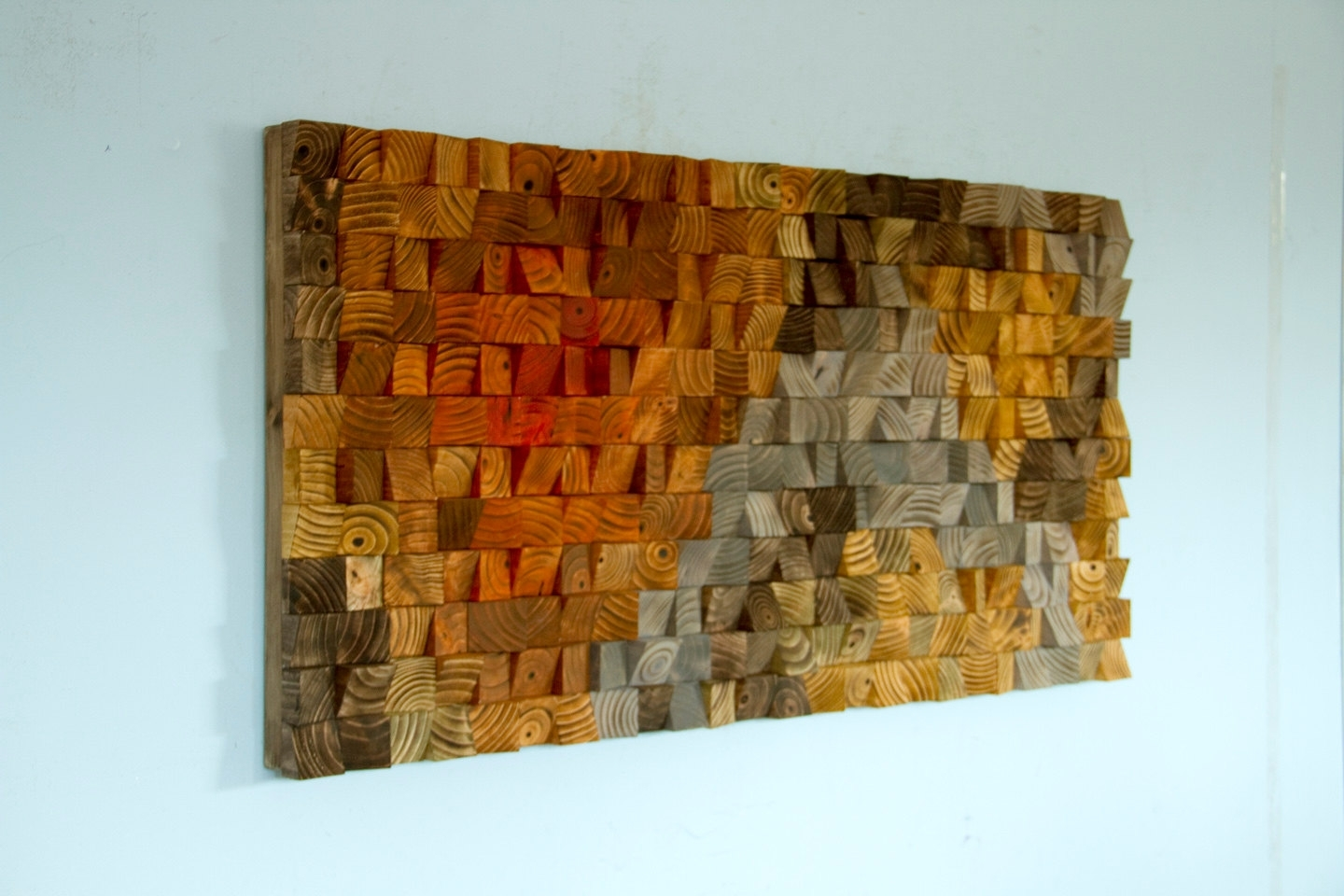 Rustic Wood Wall Art, Wood Wall Sculpture, Abstract Wood Art – Art Throughout Most Popular Sculpture Abstract Wall Art (View 7 of 20)